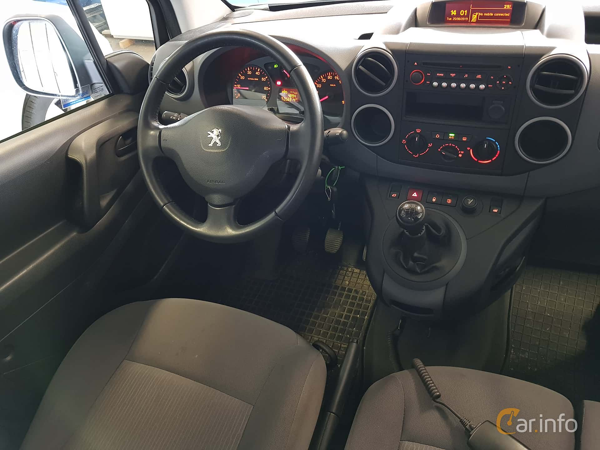 Peugeot Partner Van 1.6 HDi Manual, 92hp, 2015
