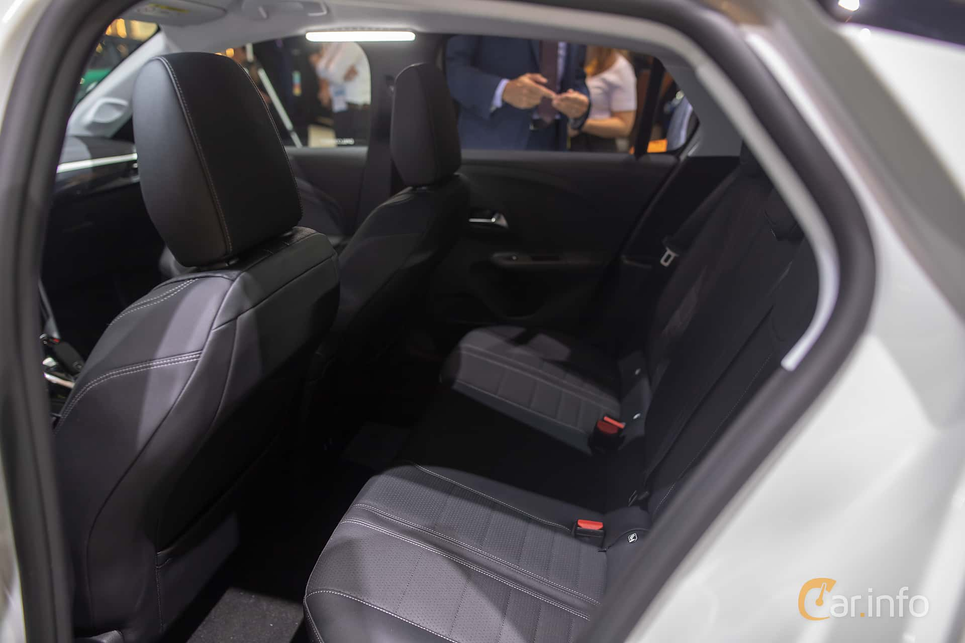 Interior of Opel Corsa 1.2 Turbo Automatic, 100ps, 2020 at IAA 2019