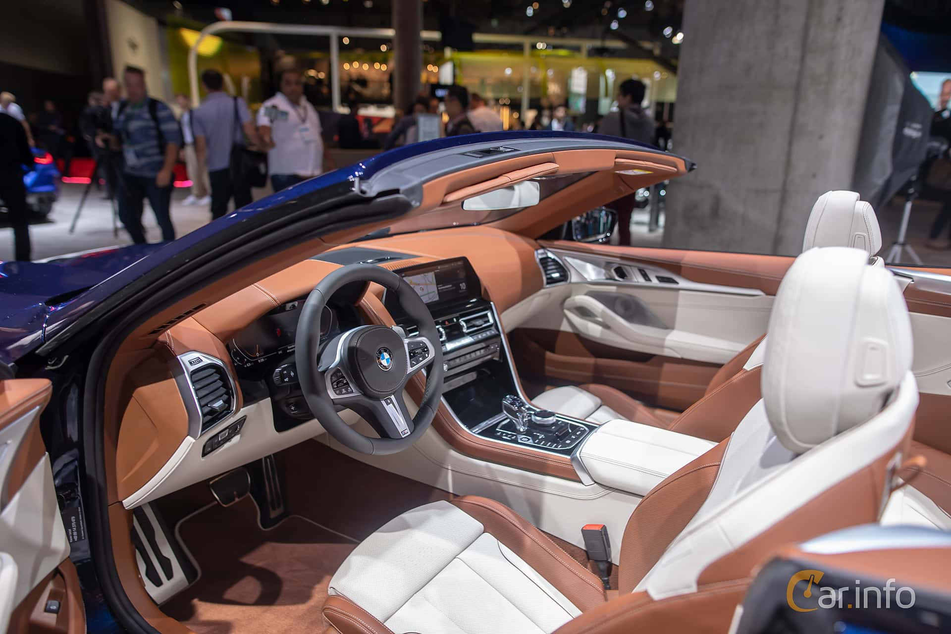 BMW 840i Convertible  Steptronic, 340hp, 2020 at IAA 2019