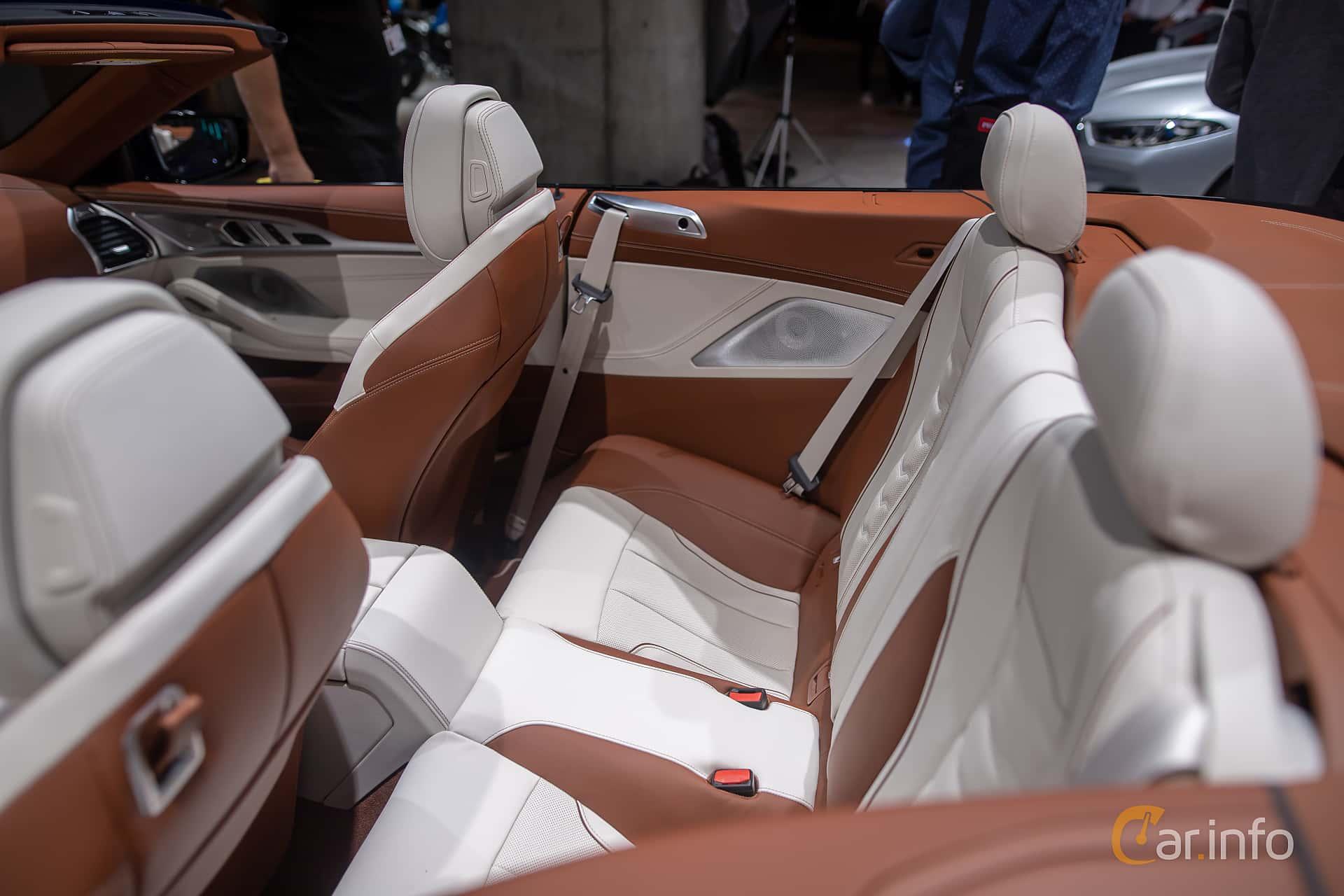 Interior of BMW 840i Convertible  Steptronic, 340ps, 2020 at IAA 2019