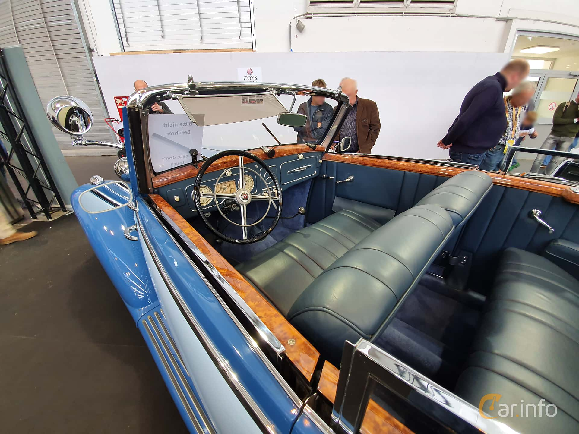 Mercedes-Benz 170 S Cabriolet A  Manuell, 52hk, 1950 at Techno Classica Essen 2019