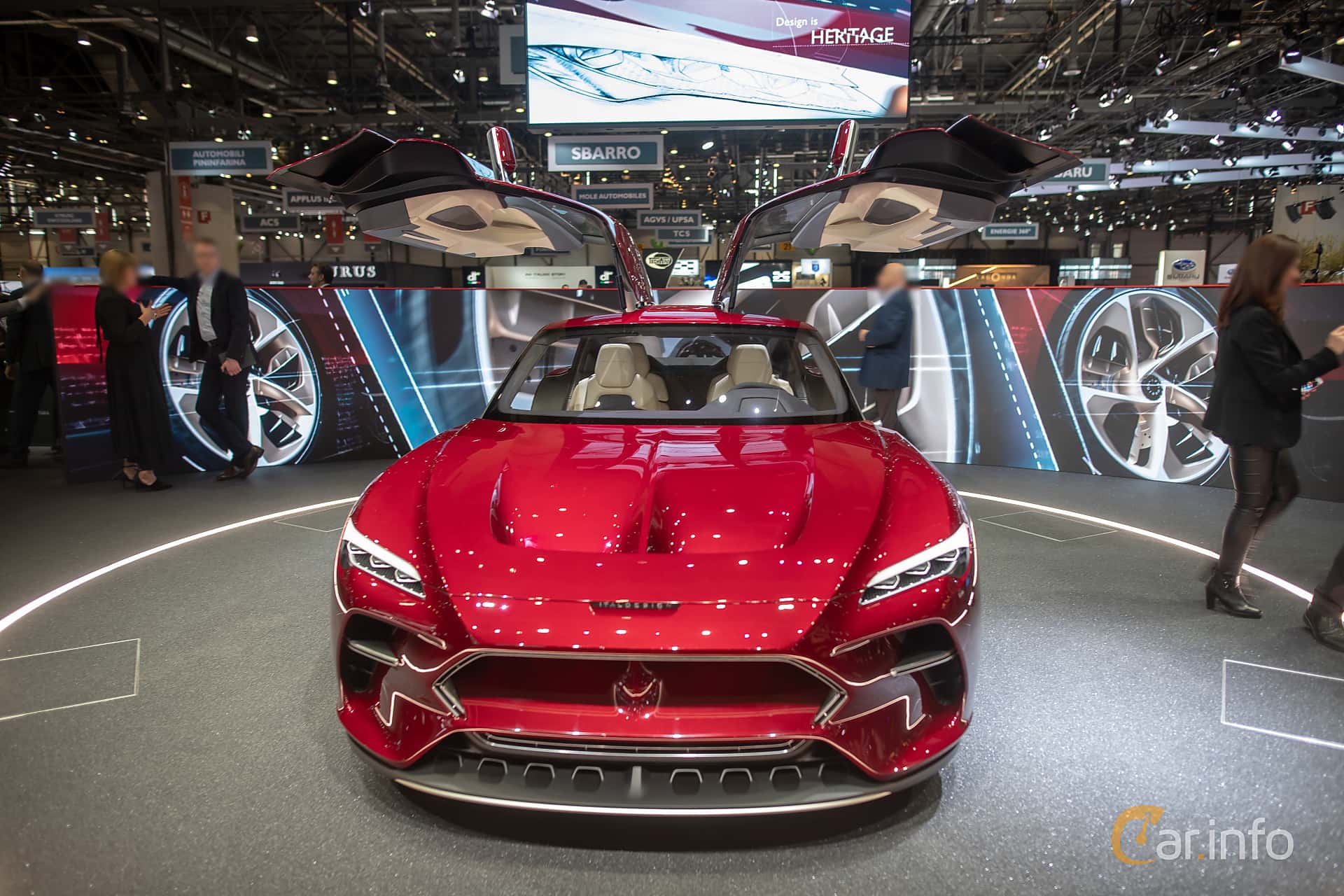 Italdesign DaVinci Concept Concept, 2019 at Geneva Motor Show 2019