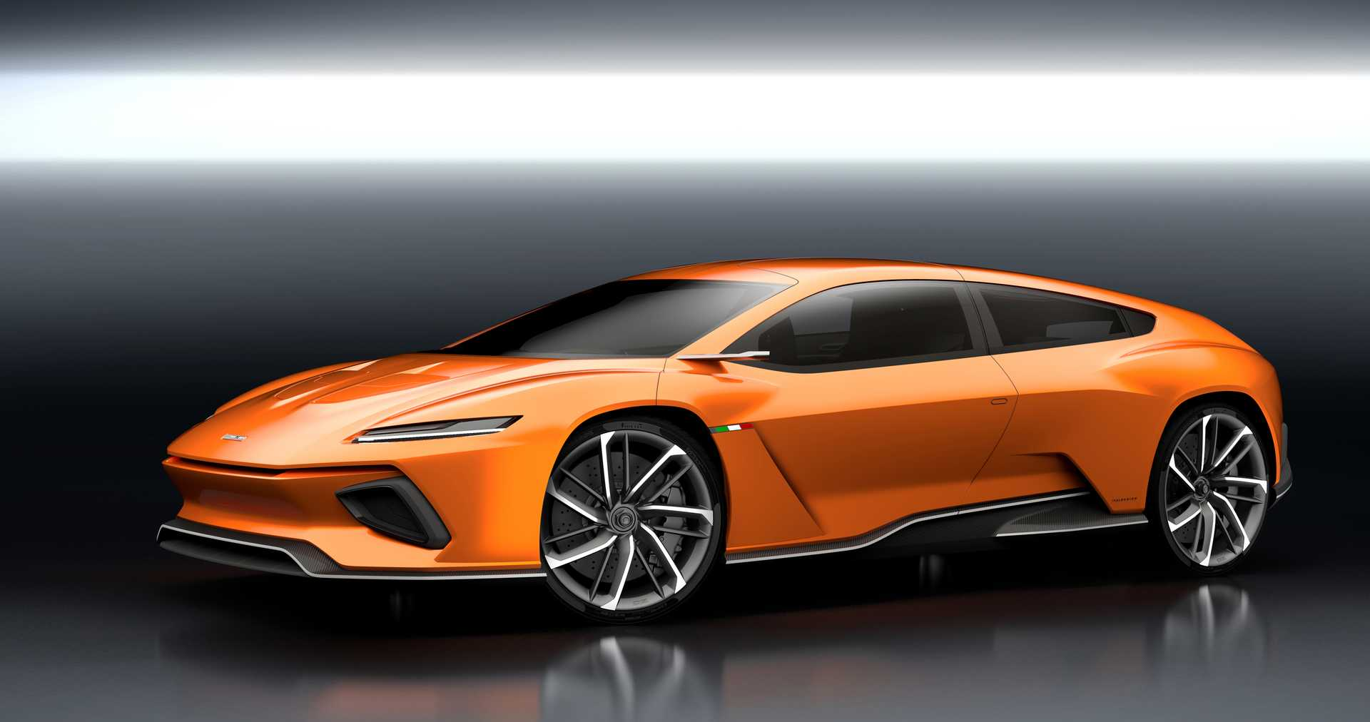 Italdesign GTZero Electric Single Speed, 490hp, 2016