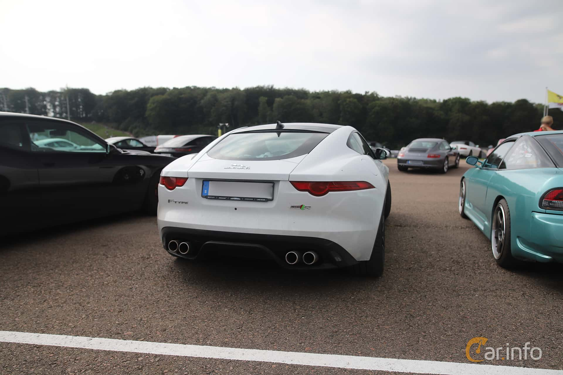 Jaguar F-Type R AWD  Automatic, 550hp, 2016 at Autoropa Racing day Knutstorp 2019
