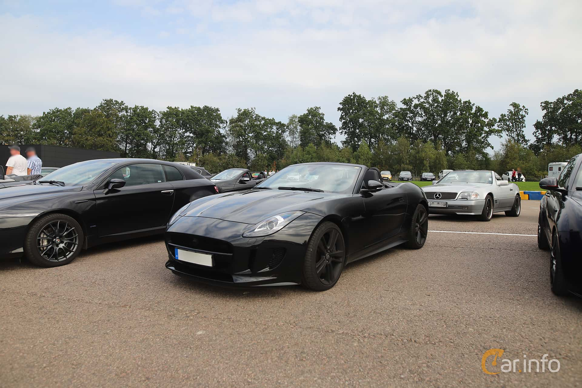 Jaguar F-Type V8 S Convertible  Automatic, 495hp, 2015 at Autoropa Racing day Knutstorp 2019
