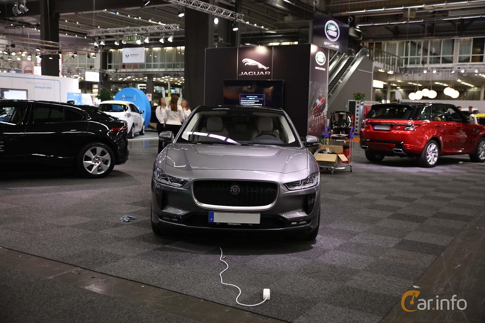 Jaguar I-Pace EV400 AWD 90 kWh AWD Single Speed, 400hp, 2019 at eCar Expo Göteborg 2018