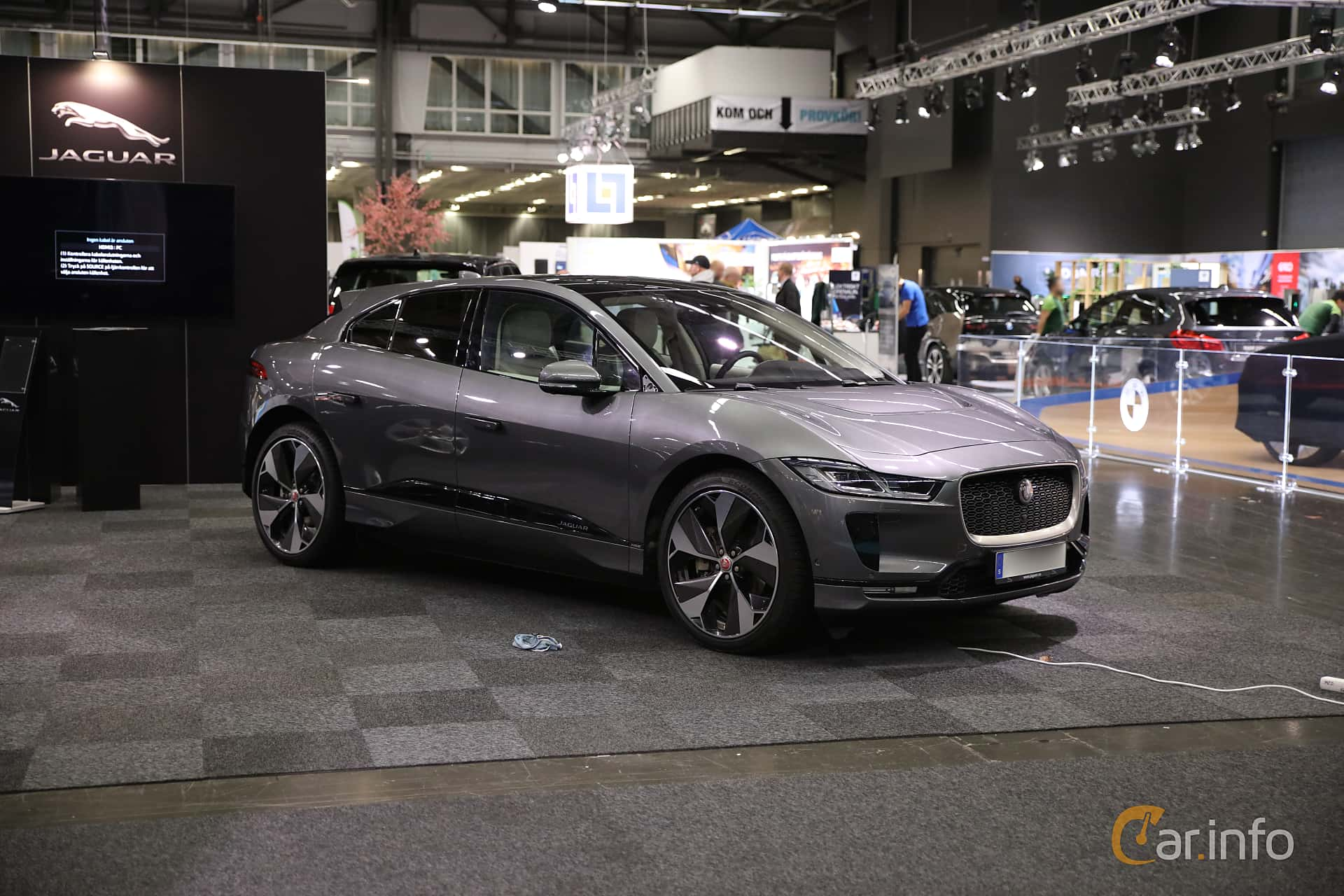 Jaguar I-Pace EV400 AWD  Single Speed, 400hp, 2019 at eCar Expo Göteborg 2018