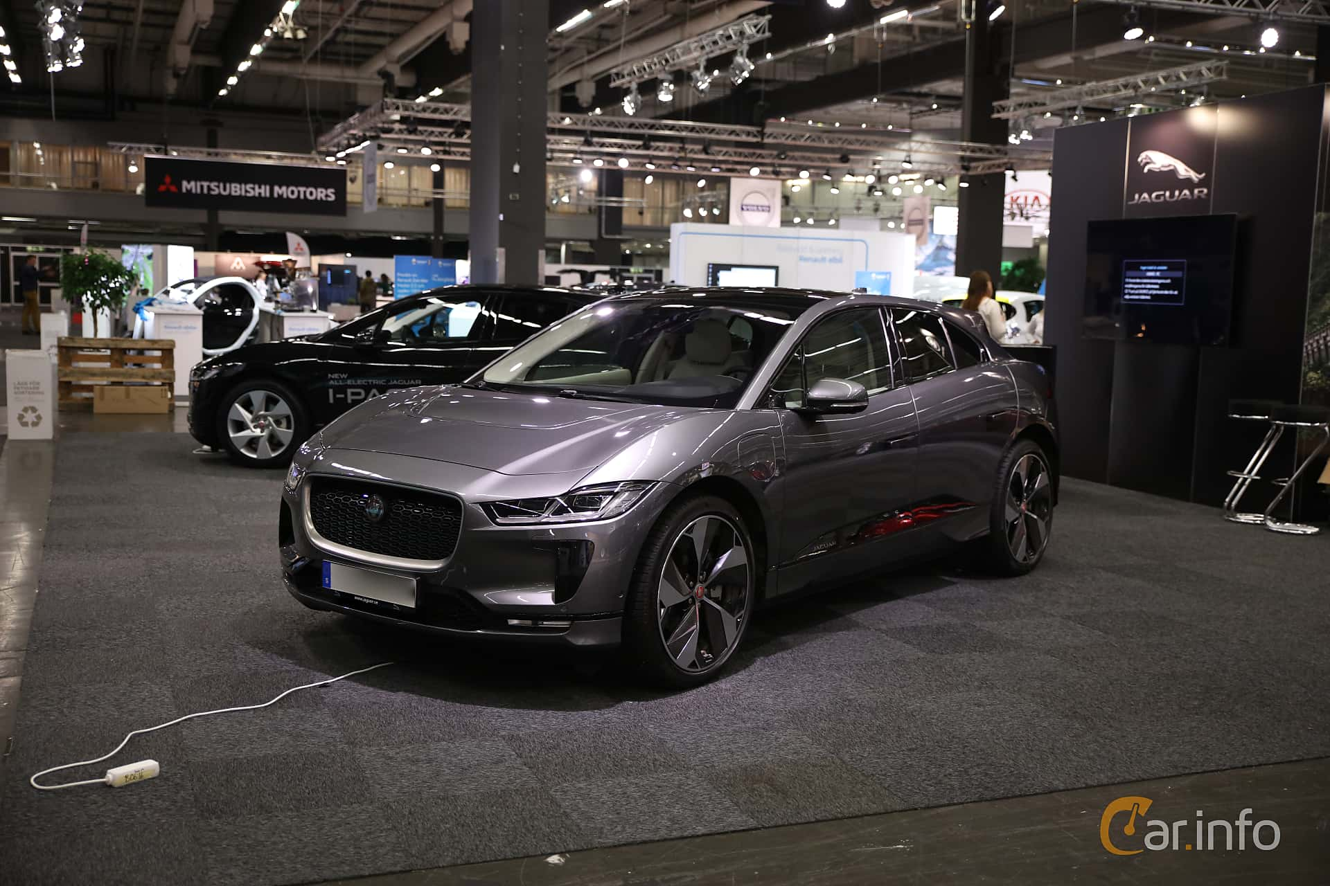Jaguar I-Pace EV400 AWD  Single Speed, 400hp, 2019 at eCar Expo Göteborg 2018