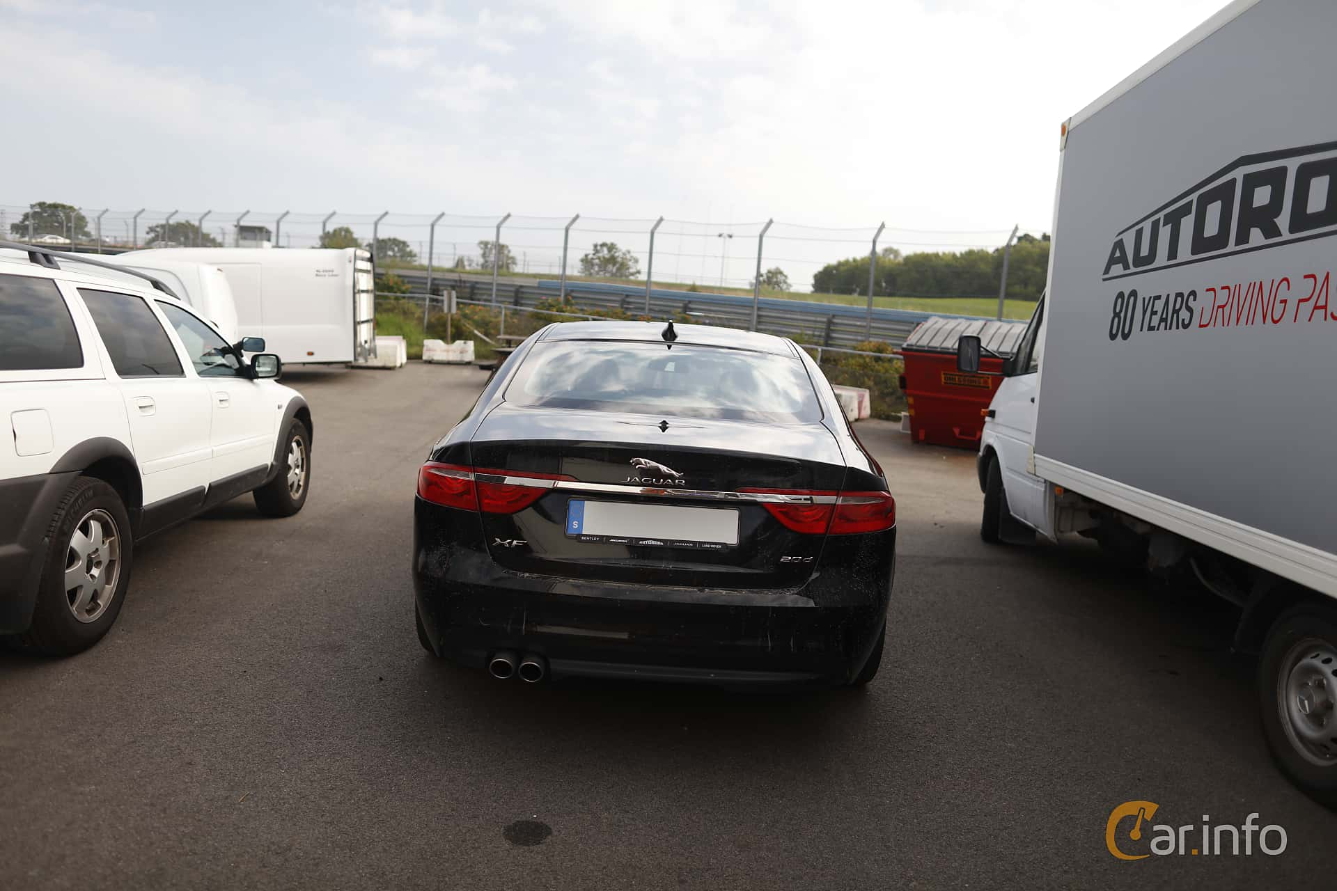Jaguar XF 20d  Automatic, 180hp, 2016 at Autoropa Racing day Knutstorp 2019