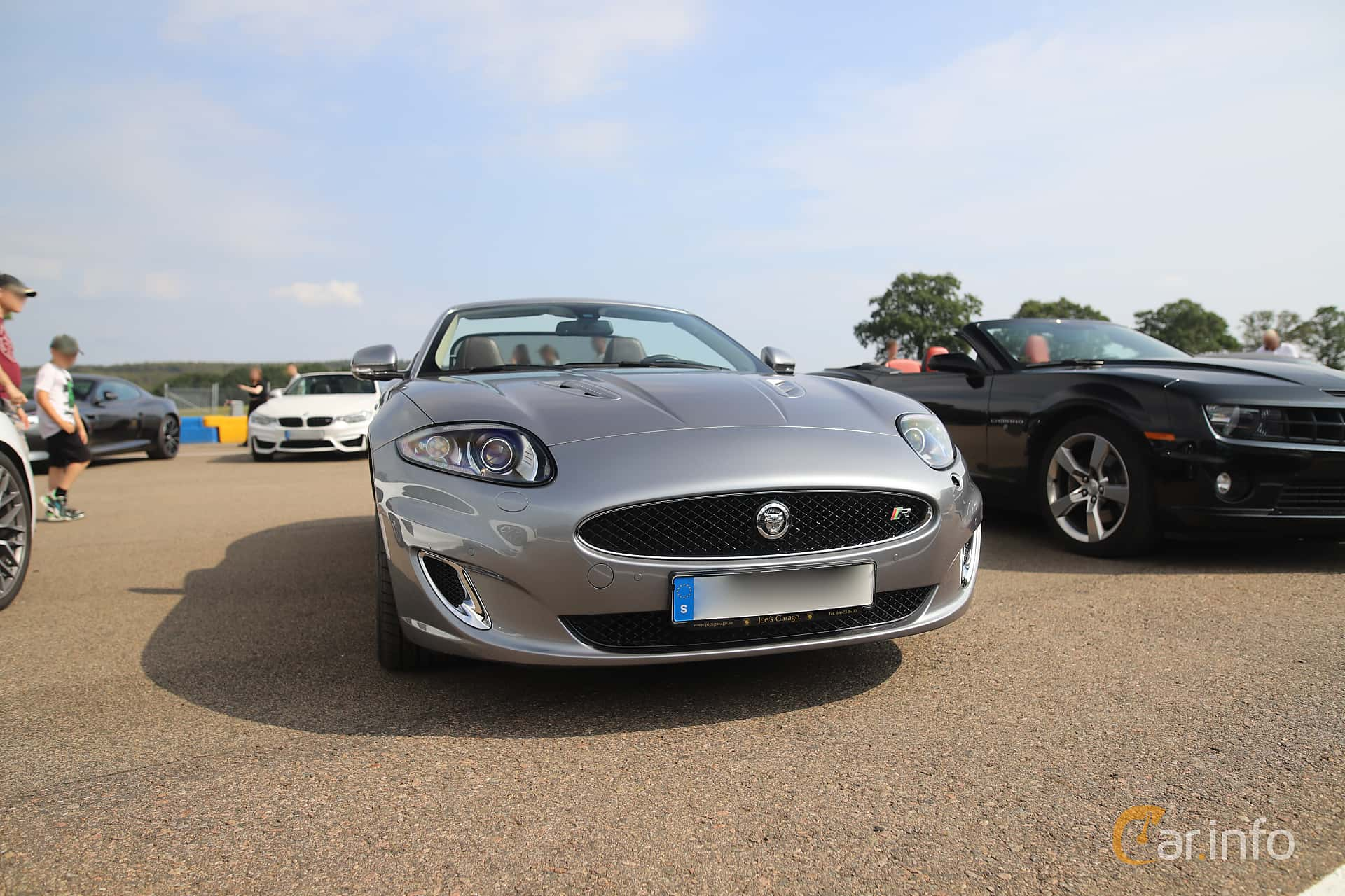 Jaguar XKR Convertible 5.0 V8 Automatic, 510hp, 2013 at Autoropa Racing day Knutstorp 2019