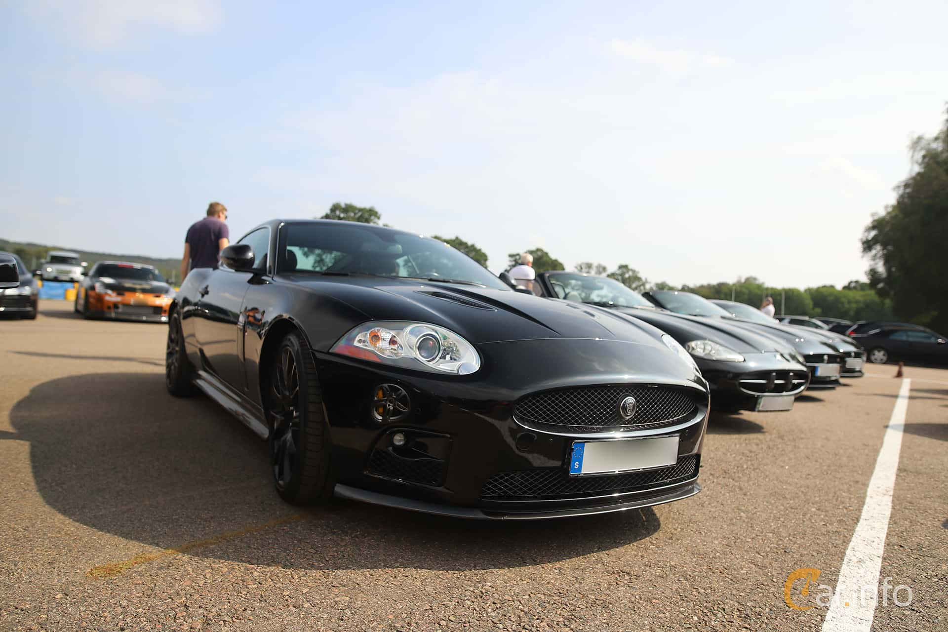 Jaguar XKR-S 4.2 V8 Automatic, 416hp, 2009 at Autoropa Racing day Knutstorp 2019