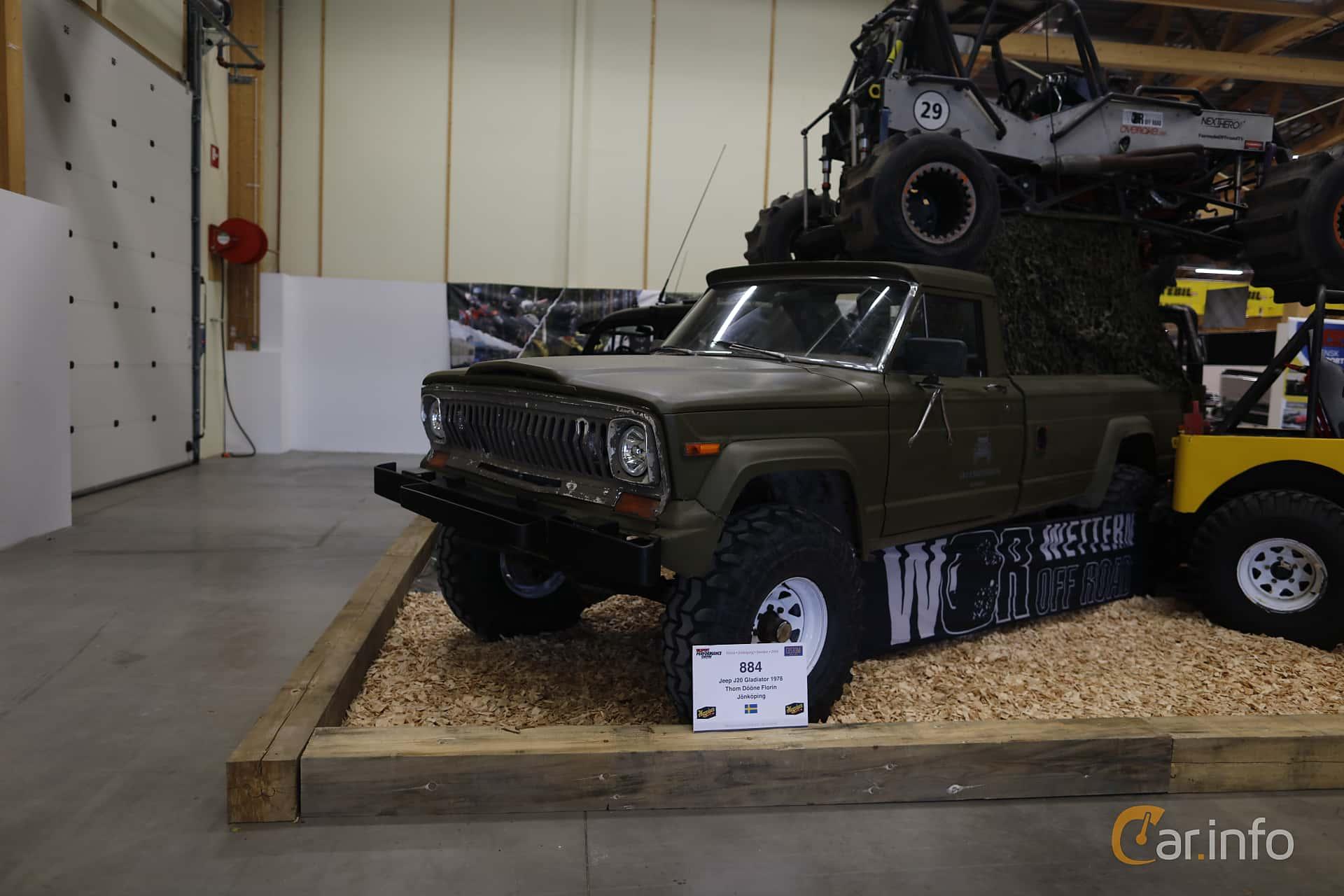 3 images of Jeep J20 1978 by jonasbonde