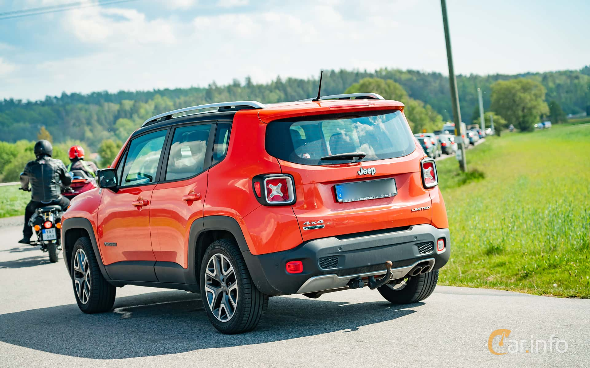 Jeep Renegade 2.0 CRD 4WD Manual, 140hp, 2015 at Tjolöholm Classic Motor 2019