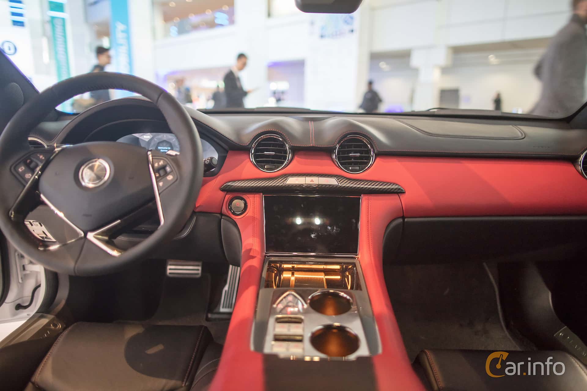 Interior of Karma Revero 2.0 + 21.4 kWh Prundletronic, 409ps, 2018 at North American