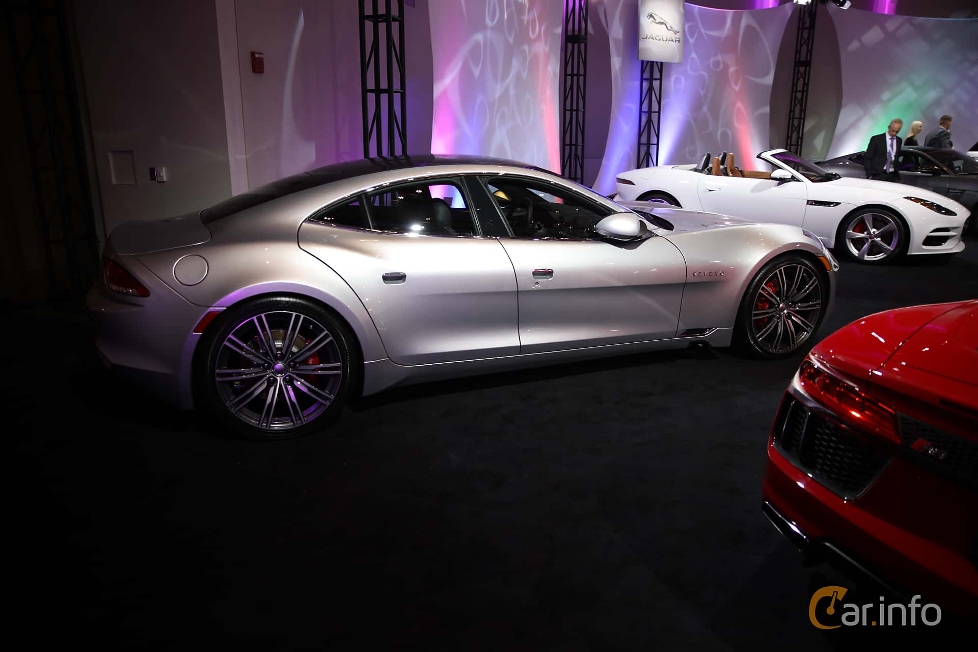 Karma Revero 2.0 + 21.4 kWh Prundletronic, 409hp, 2018 at North American International Auto Show 2018