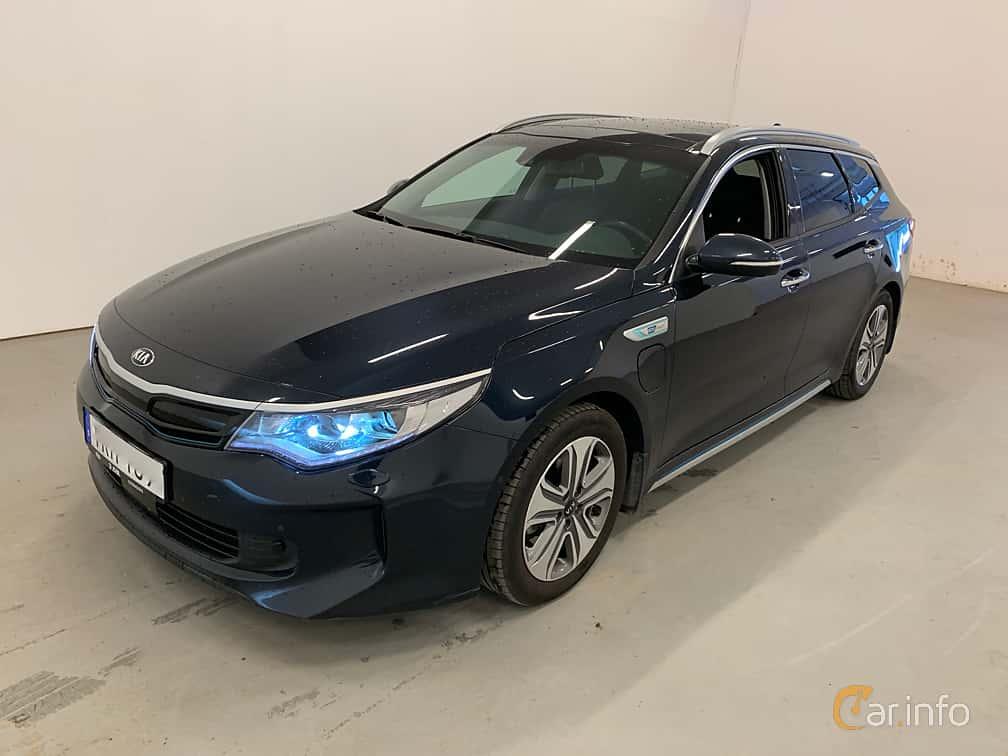 Front/Side  of Kia Optima Sport Wagon Hybrid P-HEV 2.0 Hybrid Automatic, 205ps, 2018