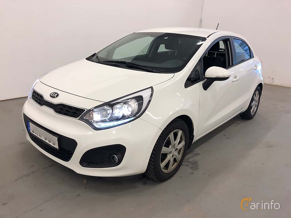 Kia Rio 5-door 1.2 CVVT Manual, 86hp, 2014