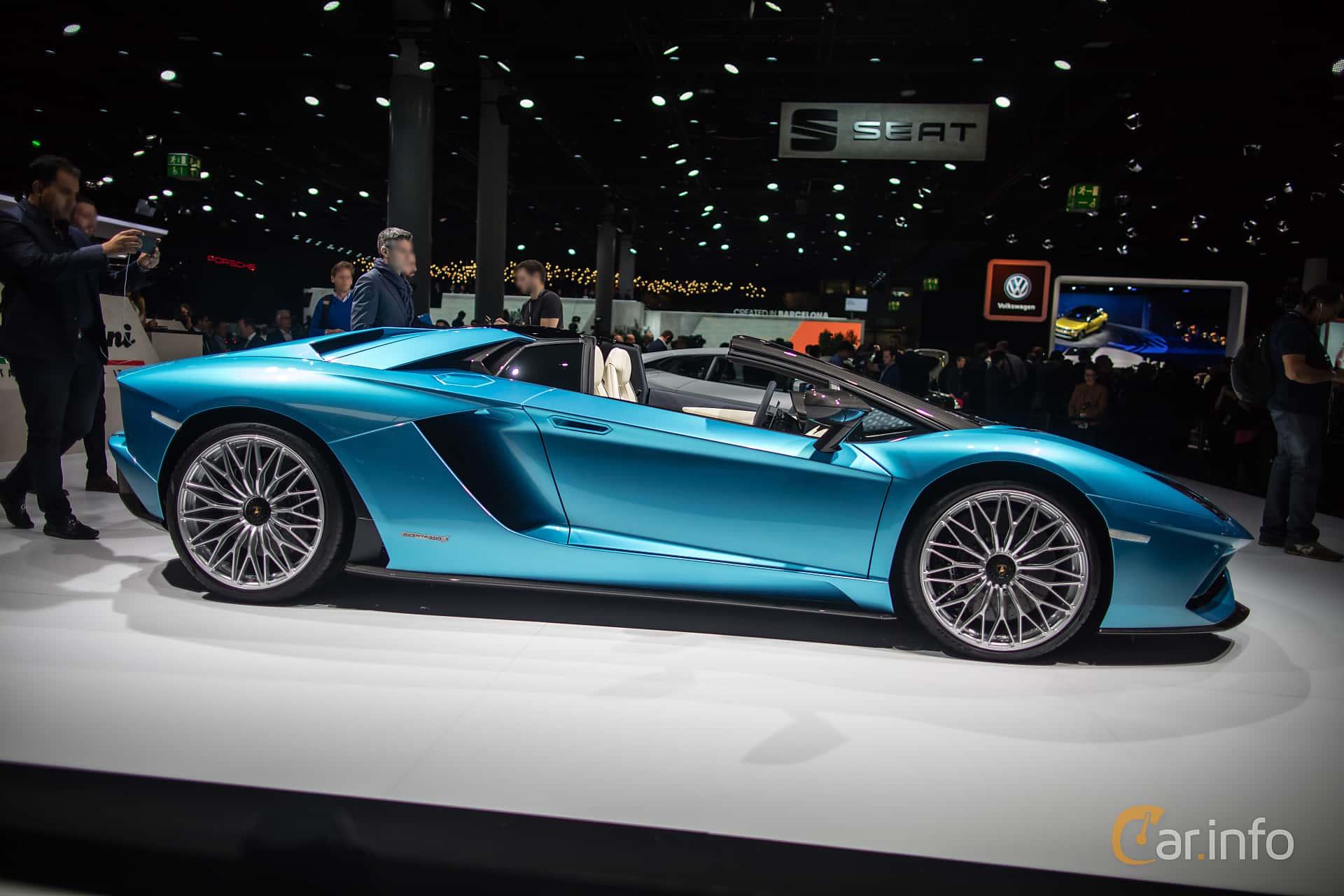 4 Images Of Lamborghini Aventador Lp 740 4 S Roadster 6 5 V12 Isr