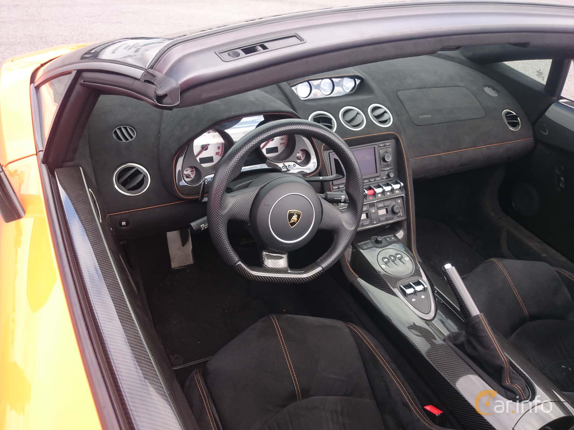 Interior Of Lamborghini Gallardo Lp 570 4 Spyder Performante 5 2
