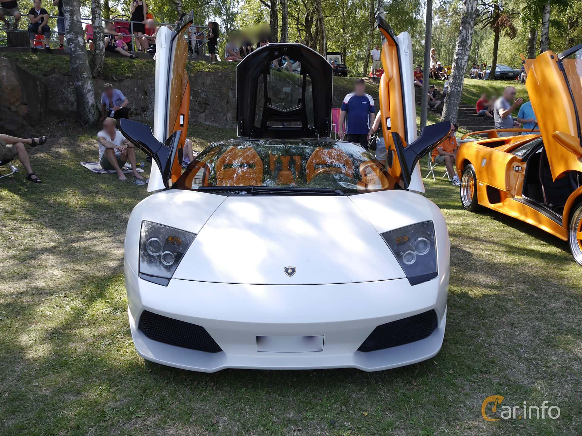Lamborghini Murcielago Roadster Front Halmstad Sports Car Event 2014  1 26541