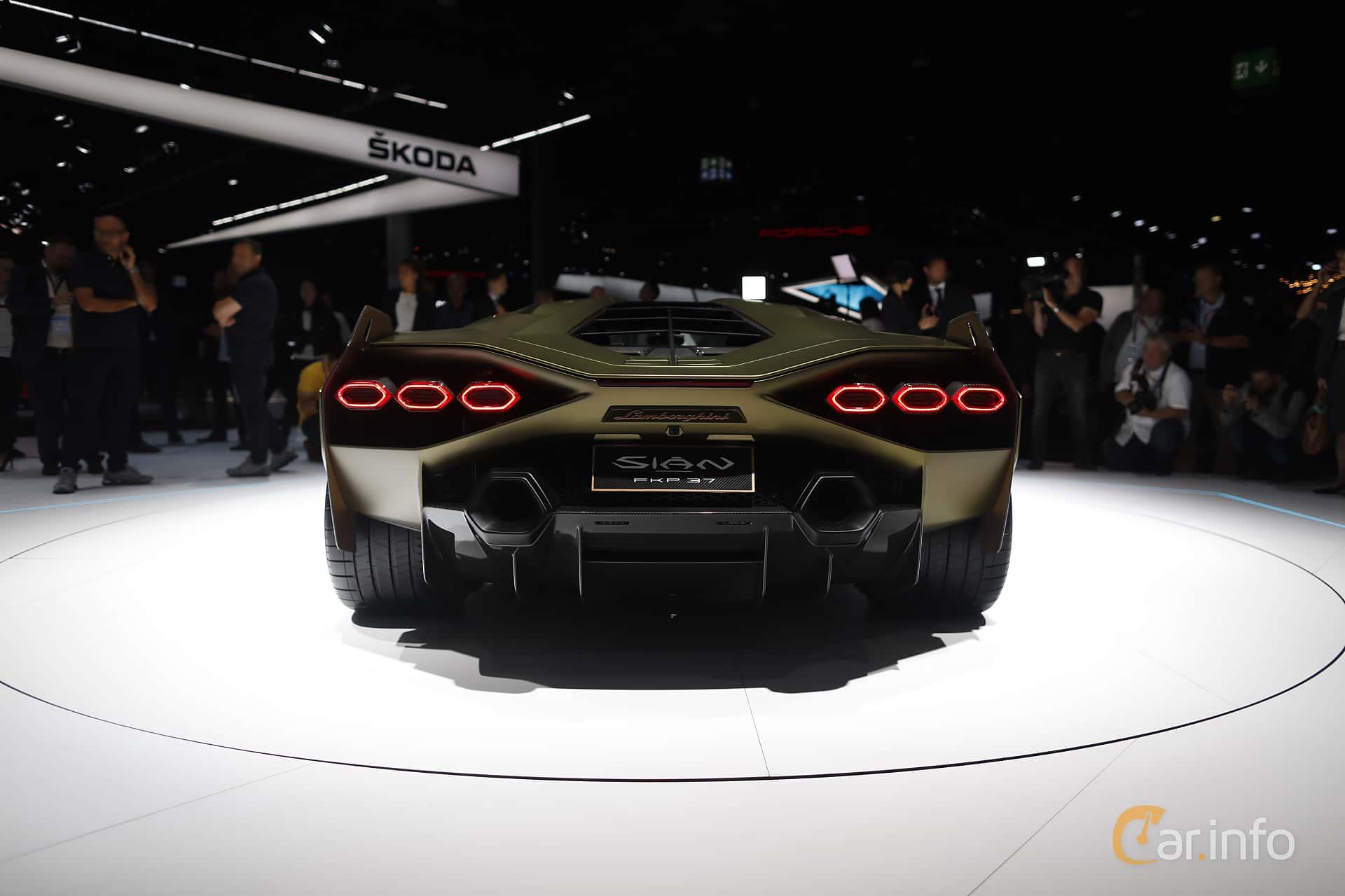 Lamborghini Sián 6.5 V12 ISR, 819hp, 2020 at IAA 2019