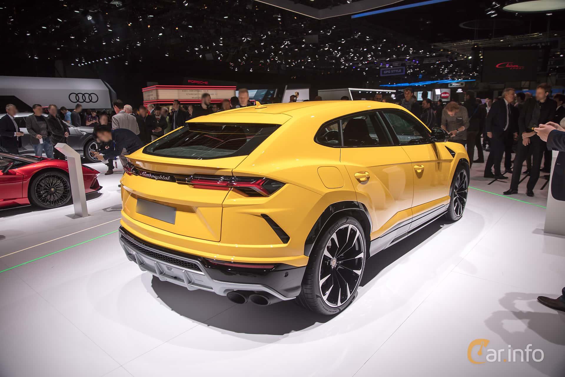 Lamborghini Urus 4.0 V8 AWD Automatic, 650hp, 2018 at Geneva Motor Show 2018