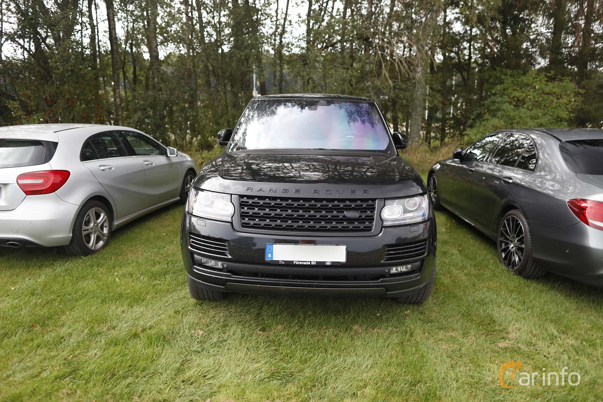 Front  of Land Rover Range Rover 4.4 SDV8 4WD Automatic, 340ps, 2014 at Autoropa Racing day Knutstorp 2019