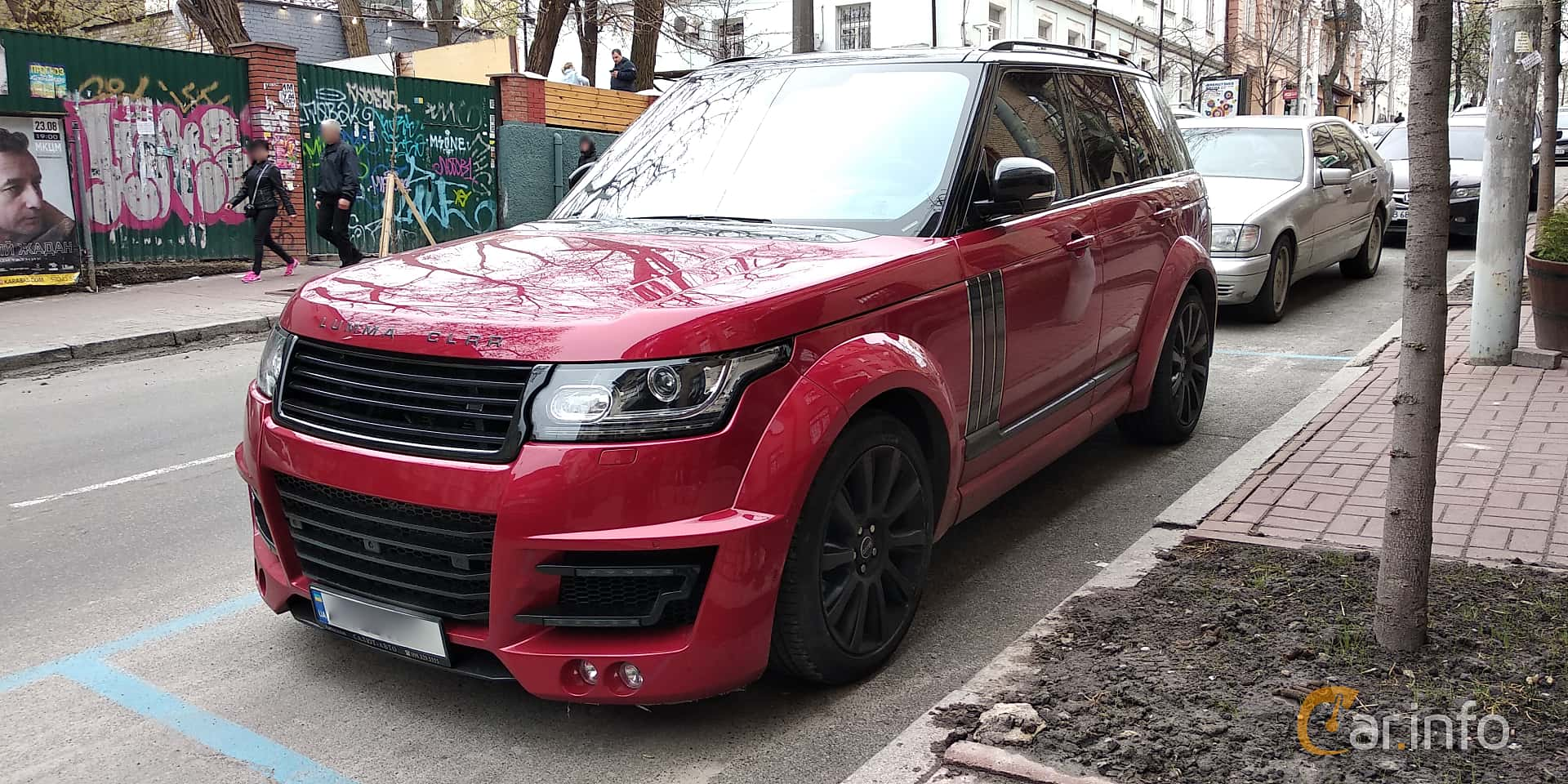 Land Rover Range Rover 5.0 V8 4WD Automatic, 550hp, 2017