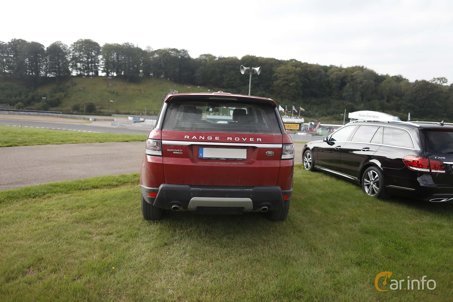 Land Rover Range Rover Sport 3.0 TDV6 4WD Automatic, 258hp, 2016 at Autoropa Racing day Knutstorp 2019