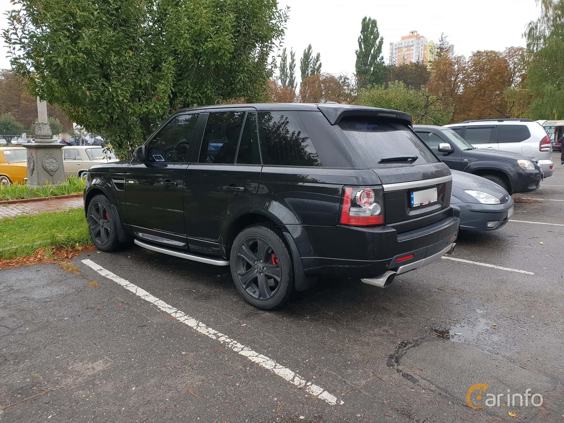 Land Rover Range Rover Sport 5.0 V8 4WD Automatic, 510hp, 2013 at Old Car Land no.2 2018