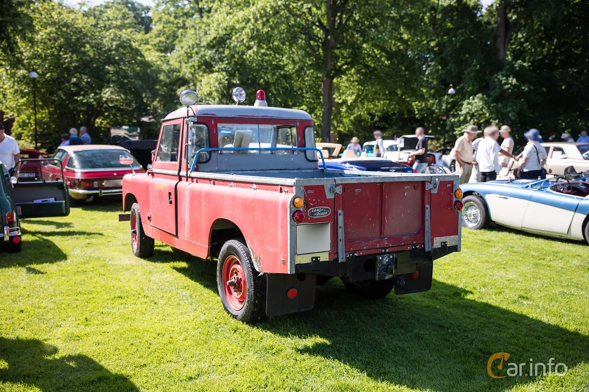 Land Rover Series IIA 109 Pickup 2.3 4x4 Manual, 68hp, 1964 at Sofiero  Classic
