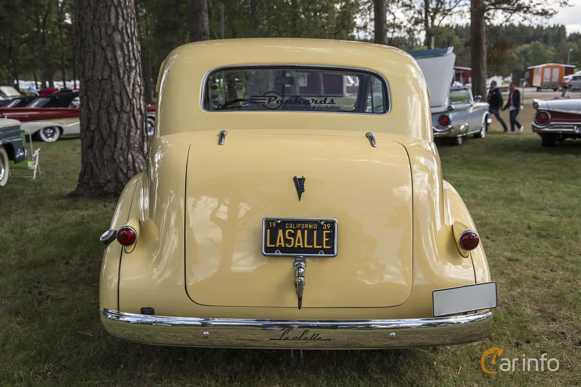 LaSalle Series 50 Convertible Sedan 5.3 V8 Manual, 125hp, 1939 at Nostalgifestivalen i Vårgårda 2016
