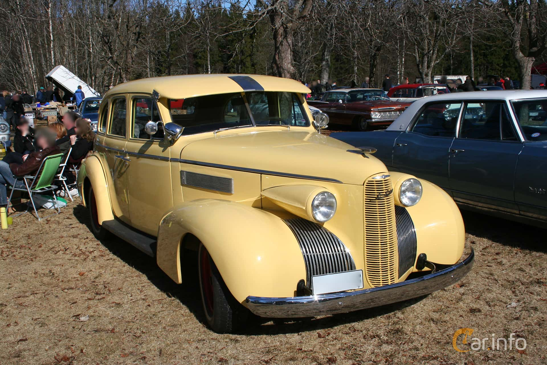 LaSalle Series 50 Convertible Sedan 5.3 V8 Manual, 125hp, 1939