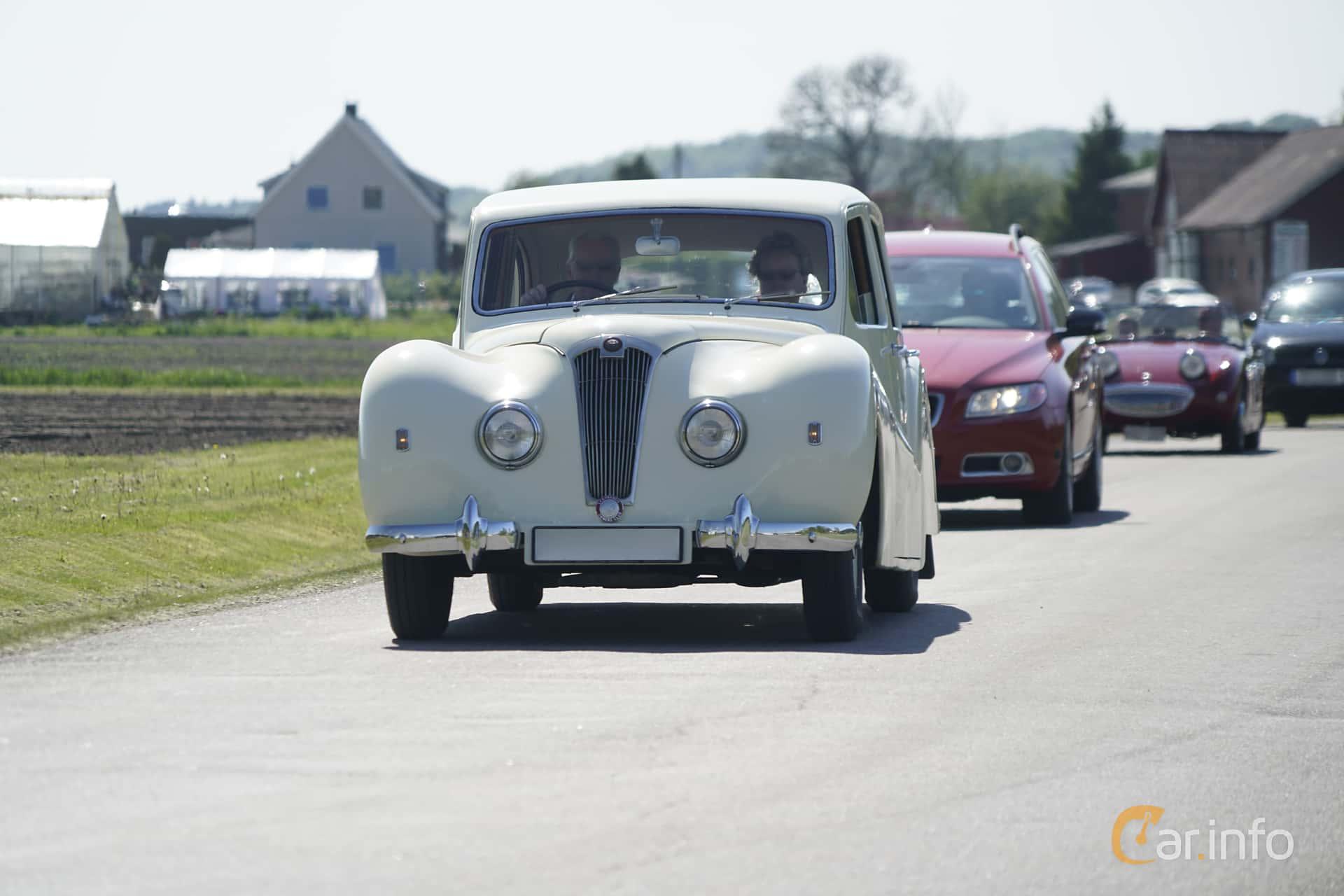 Lea-Francis 14 Estate 1.8 Manual, 67hp, 1949 at Tjolöholm Classic Motor 2017