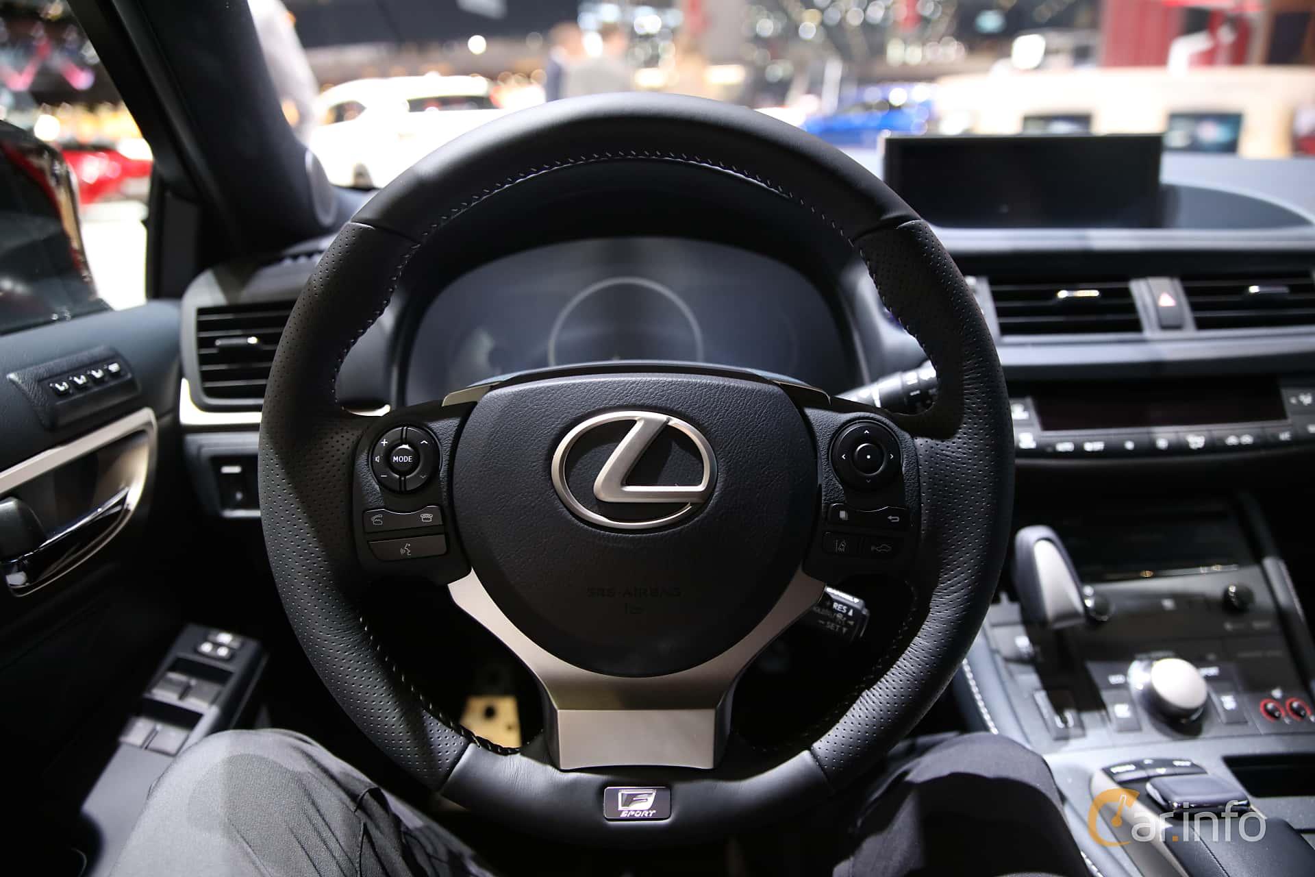 lexus ct200h 2019 interior