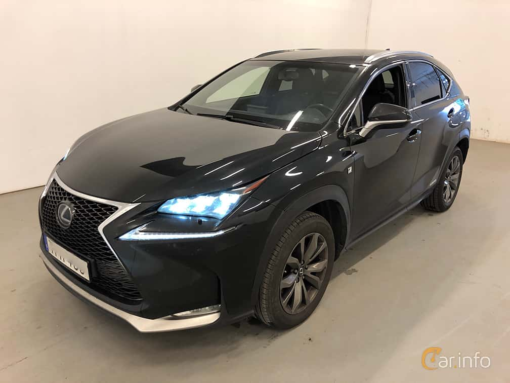 Front/Side  of Lexus NX 300h AWD 2.5 AWD ECVT, 197ps, 2017