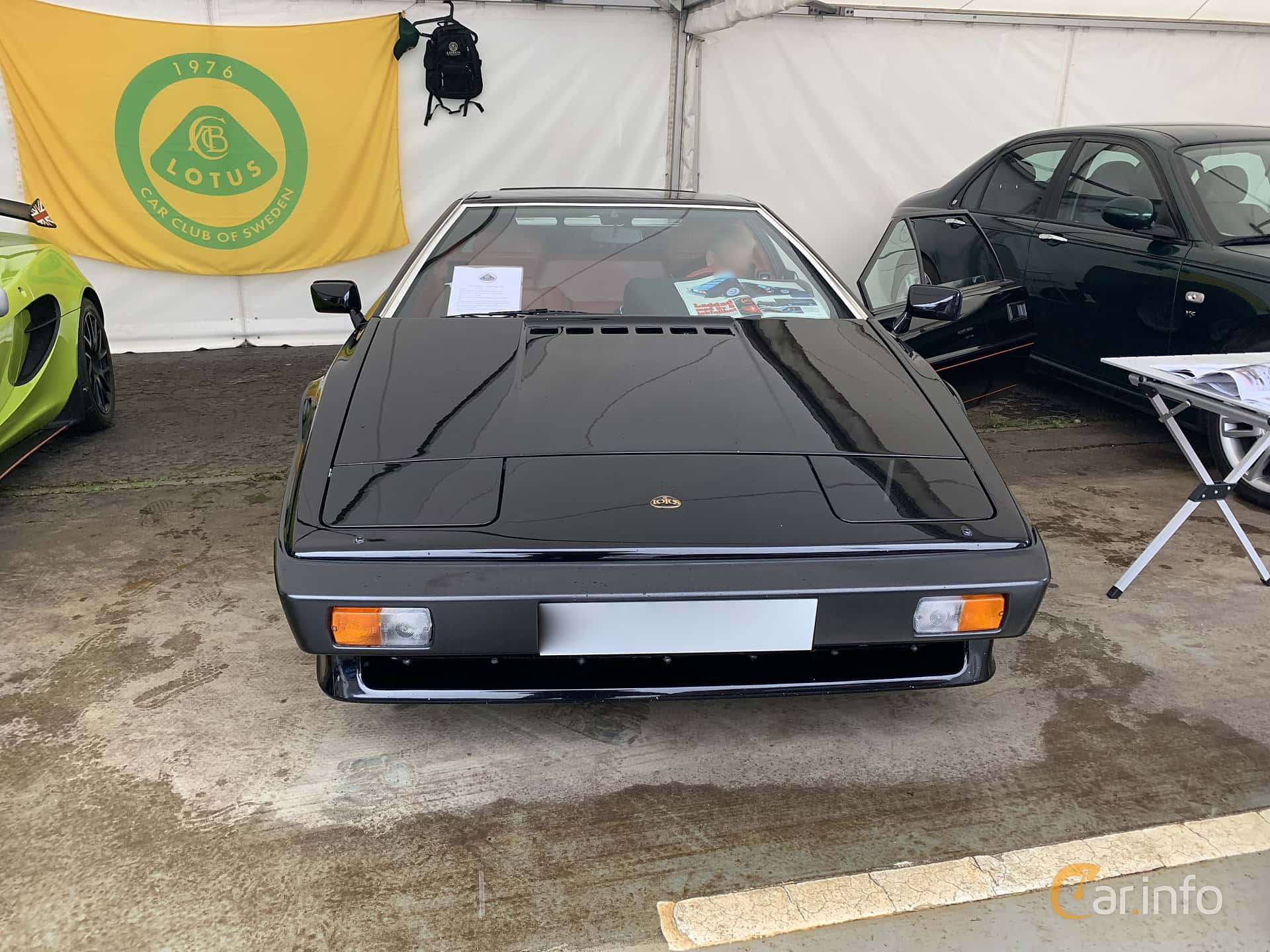 Lotus Esprit Turbo 2.2 Manual, 212hp, 1981 at Svenskt sportvagnsmeeting 2019