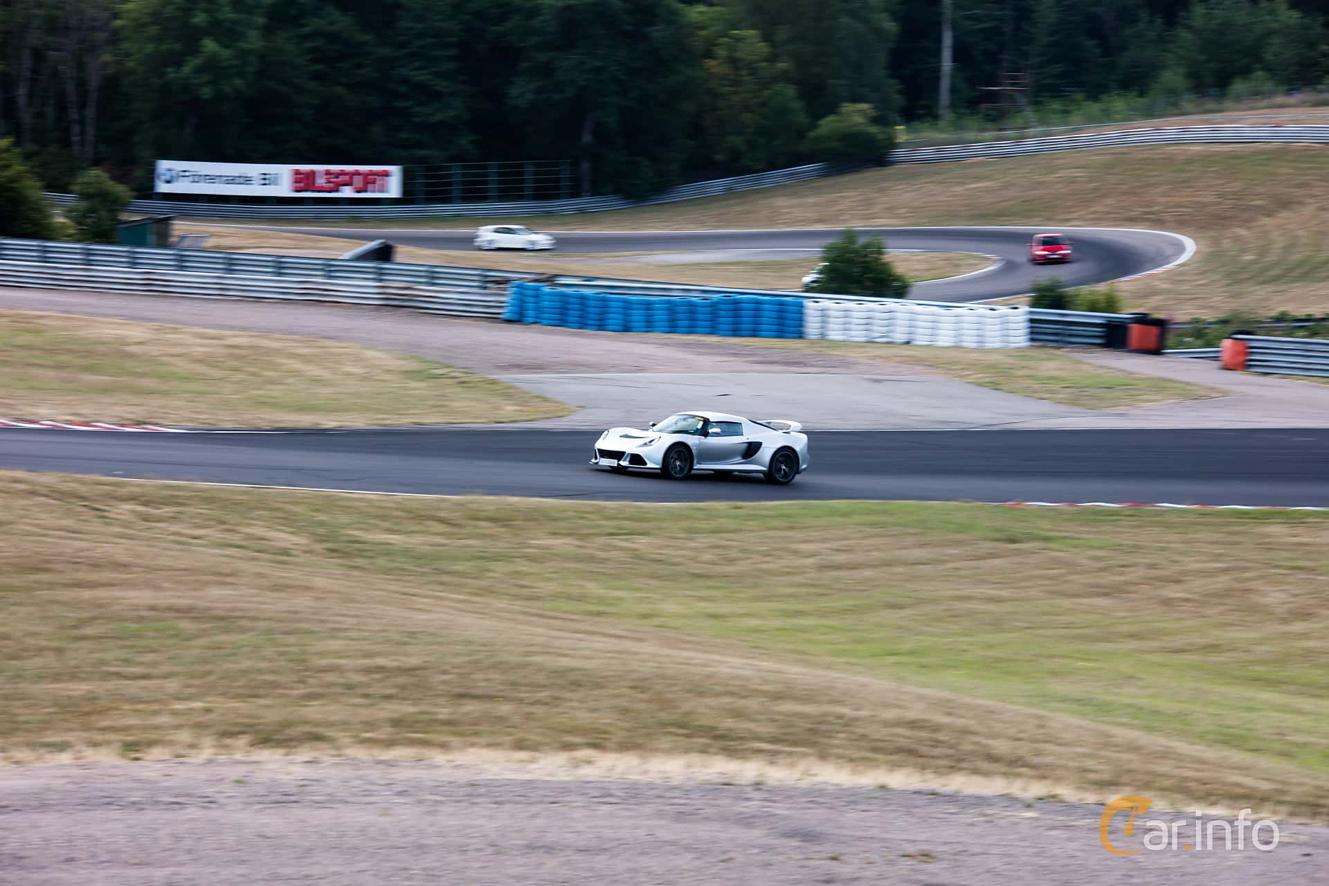 Lotus Exige S 3.5 V6 VVT-i Manual, 350hp, 2014 at JapTuning Trackday 2018 Knutstorp