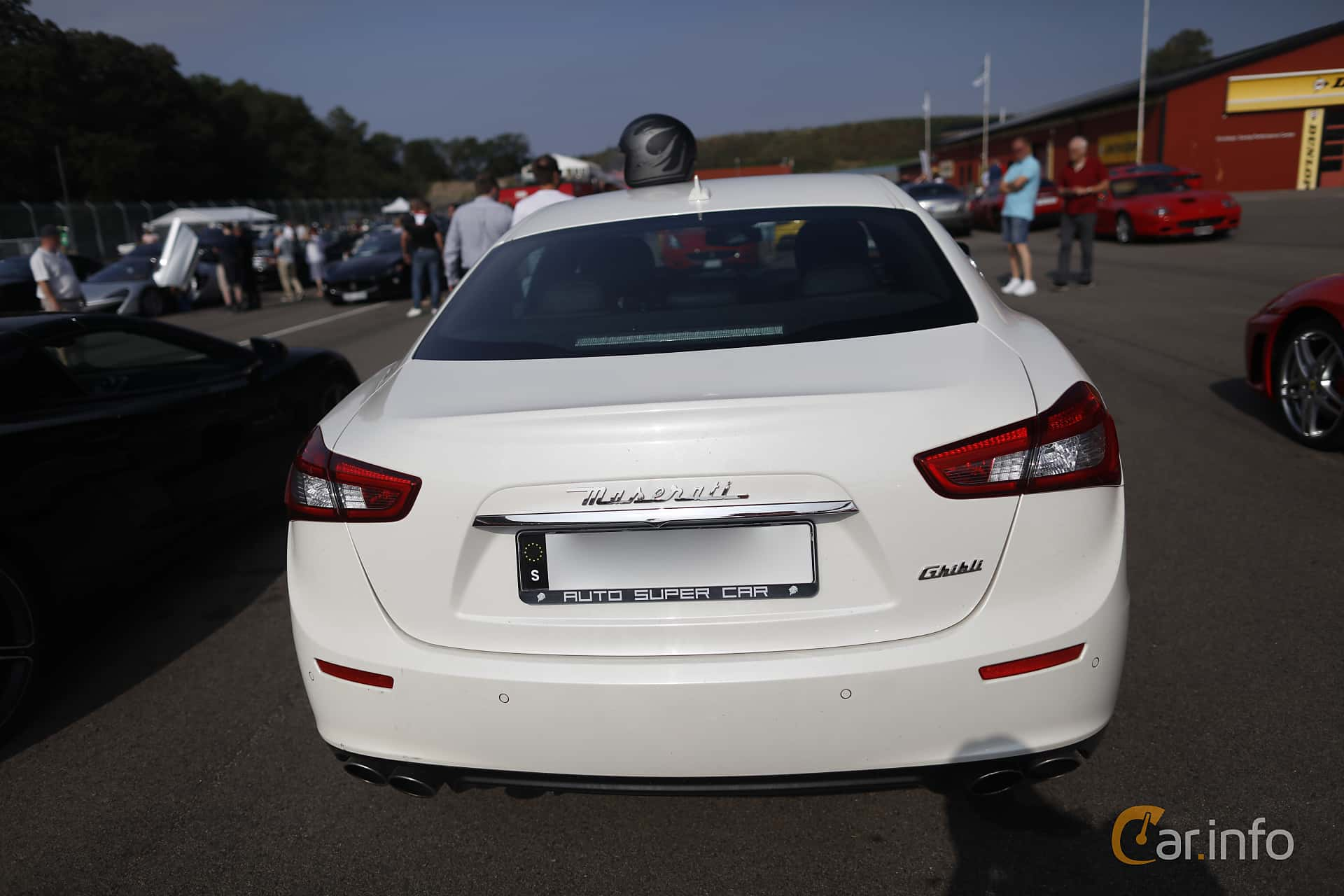 Maserati Ghibli S  Automatic, 410hp, 2014 at Autoropa Racing day Knutstorp 2019