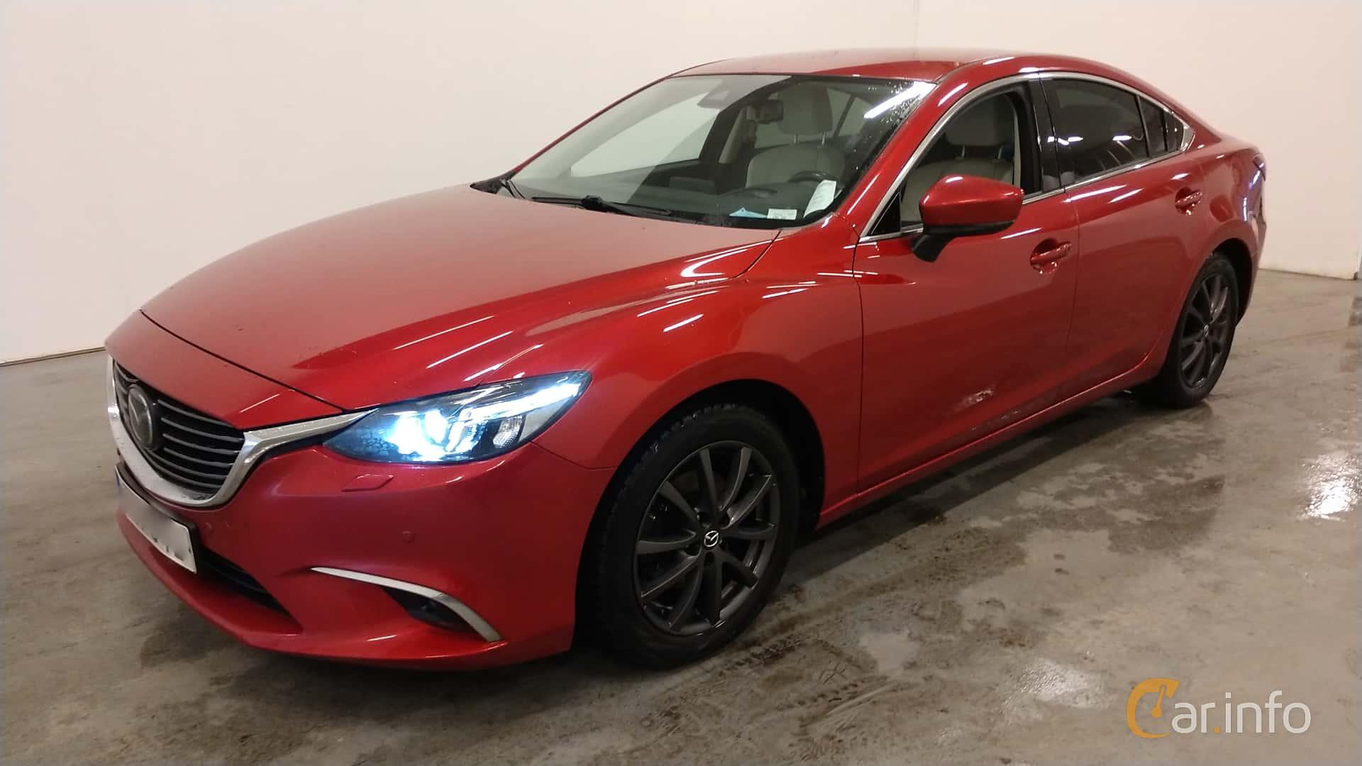 Front/Side  of Mazda 6 Sedan 2.5 SKYACTIV-G Automatic, 192ps, 2017