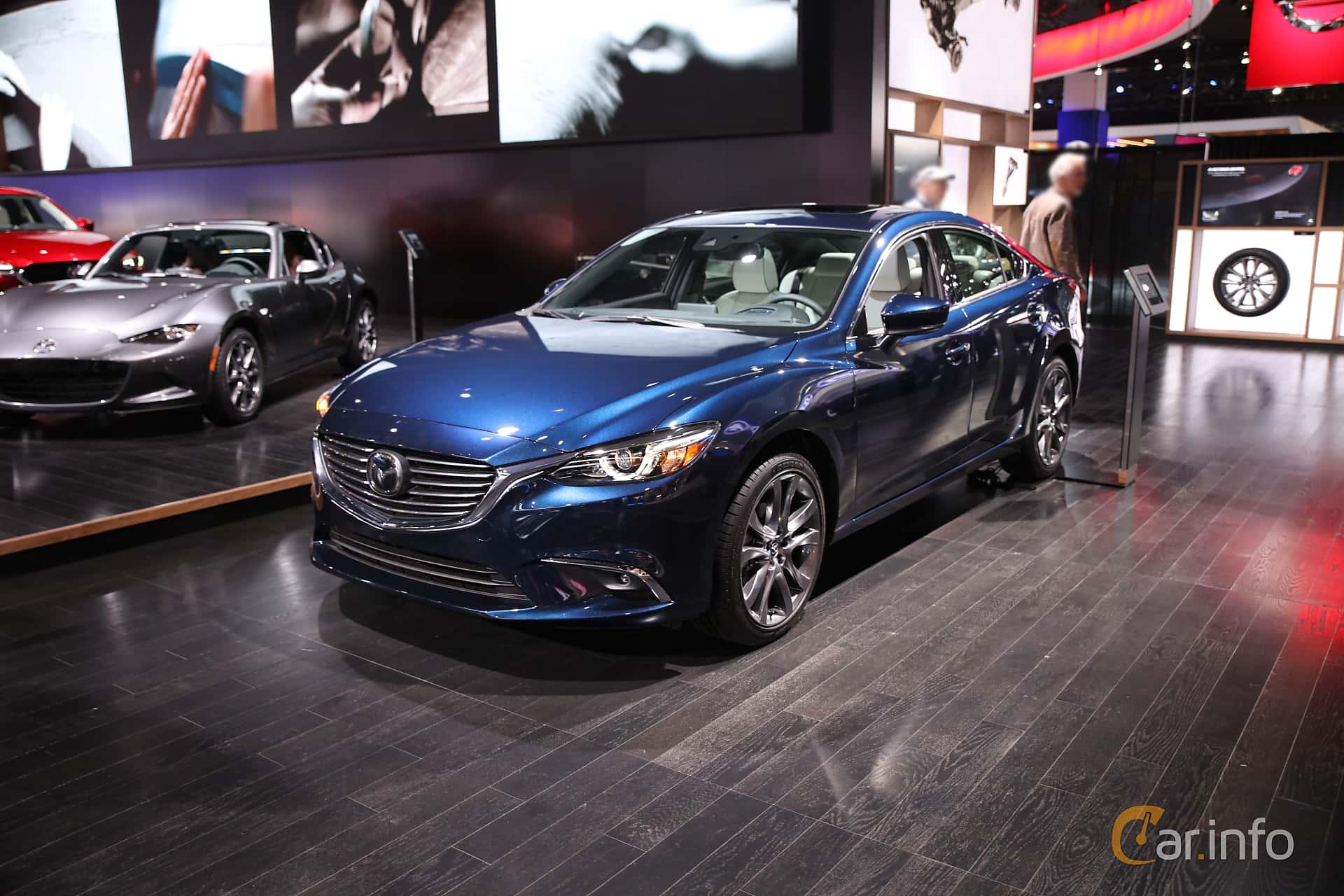 Mazda 6 Sedan 2.5 SKYACTIV-G Automatic, 192hp, 2017 at North American International Auto Show 2017