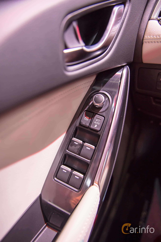 Interior of Mazda 6 Sedan 2.5 SKYACTIV-G Automatic, 192ps, 2017 at Geneva Motor Show 2017