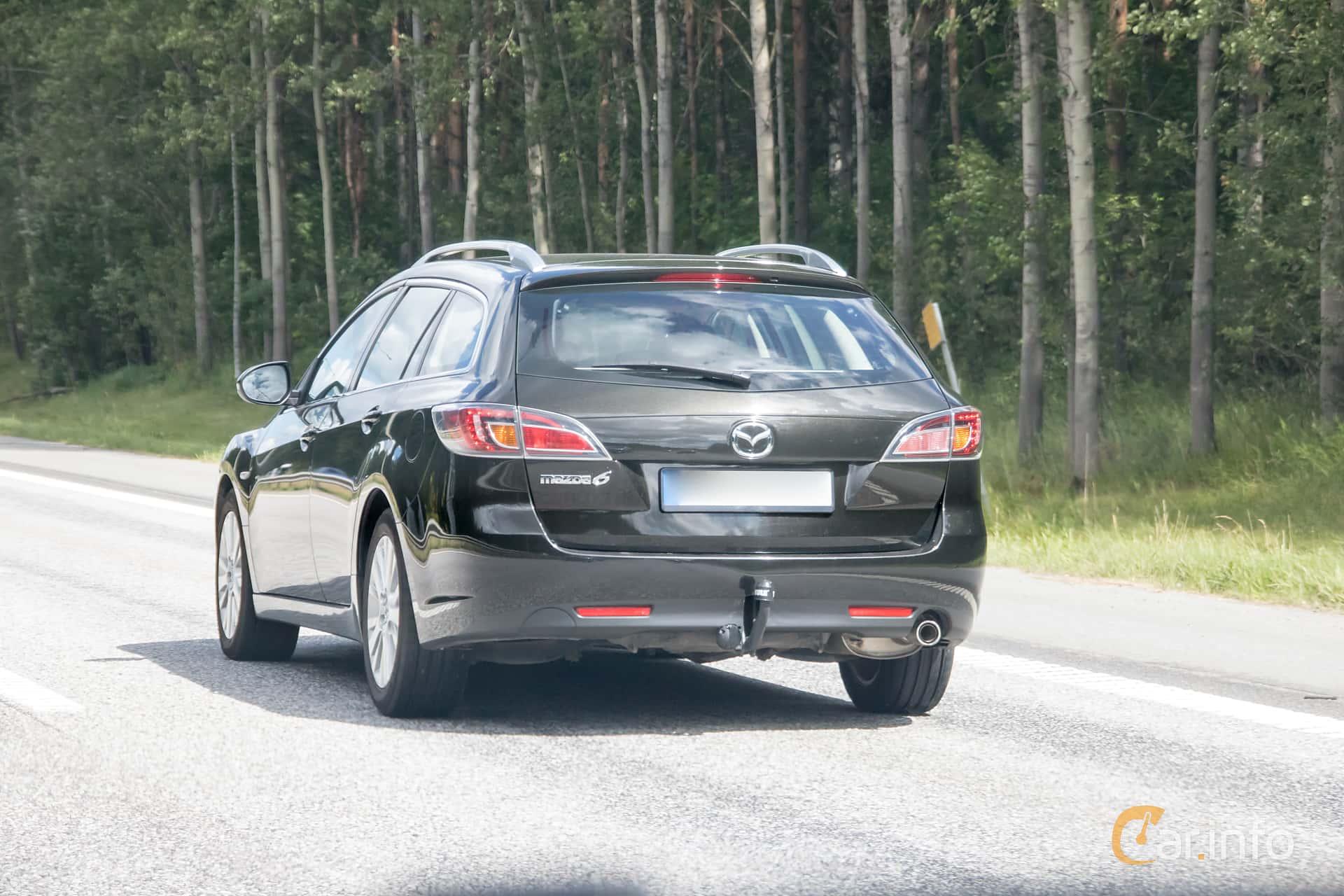 1 images of Mazda 6 Wagon 2.0 Manual, 140hp, 2008 by sebastianjohansson