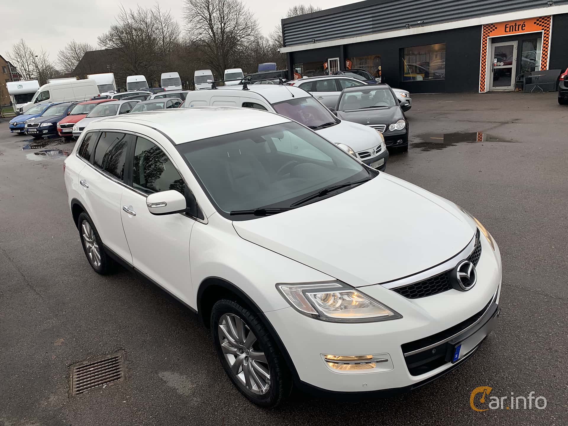 Front/Side  of Mazda CX-9 3.7 AWD Automatic, 276ps, 2008