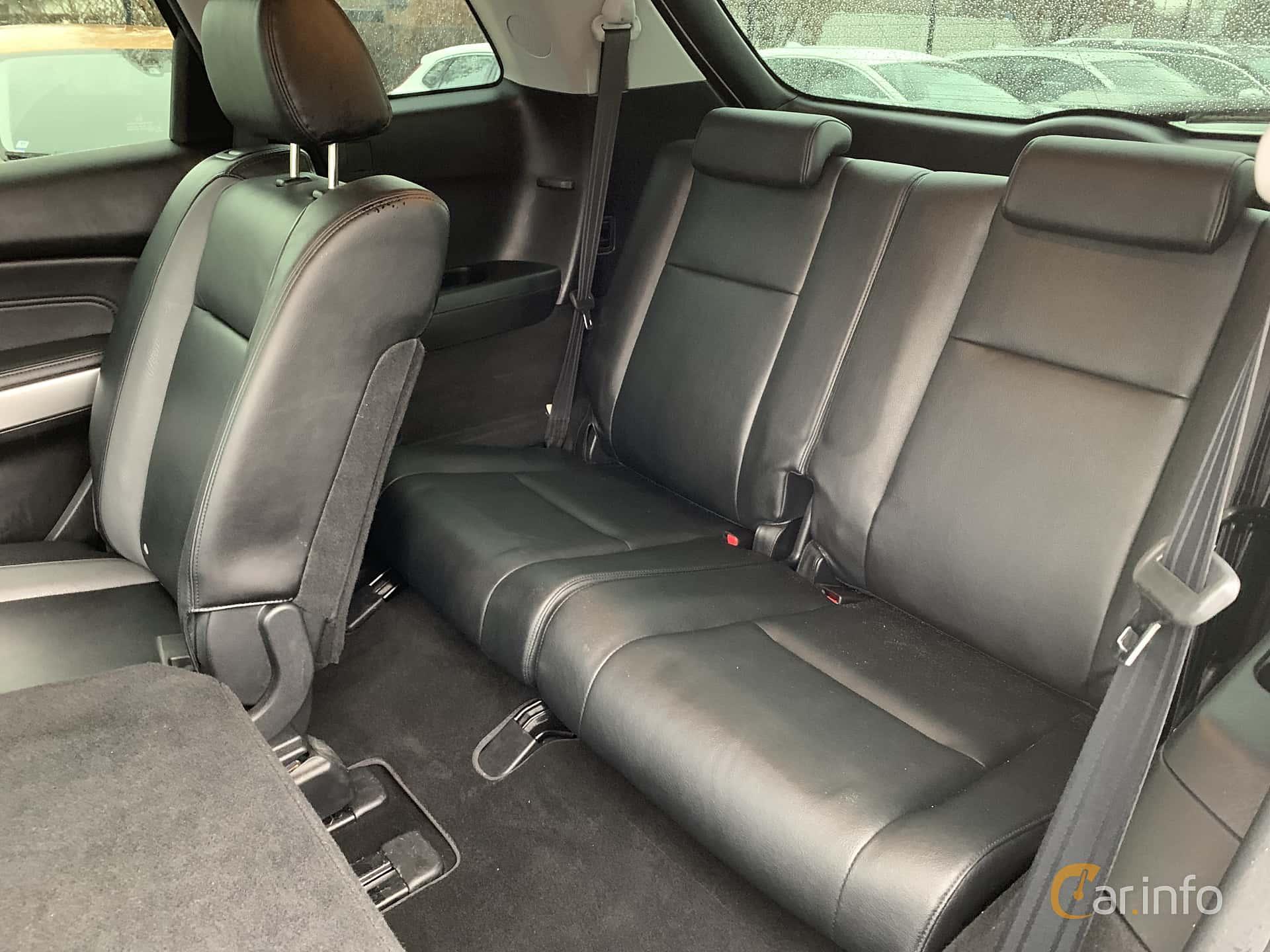 Interior of Mazda CX-9 3.7 AWD Automatic, 276ps, 2008