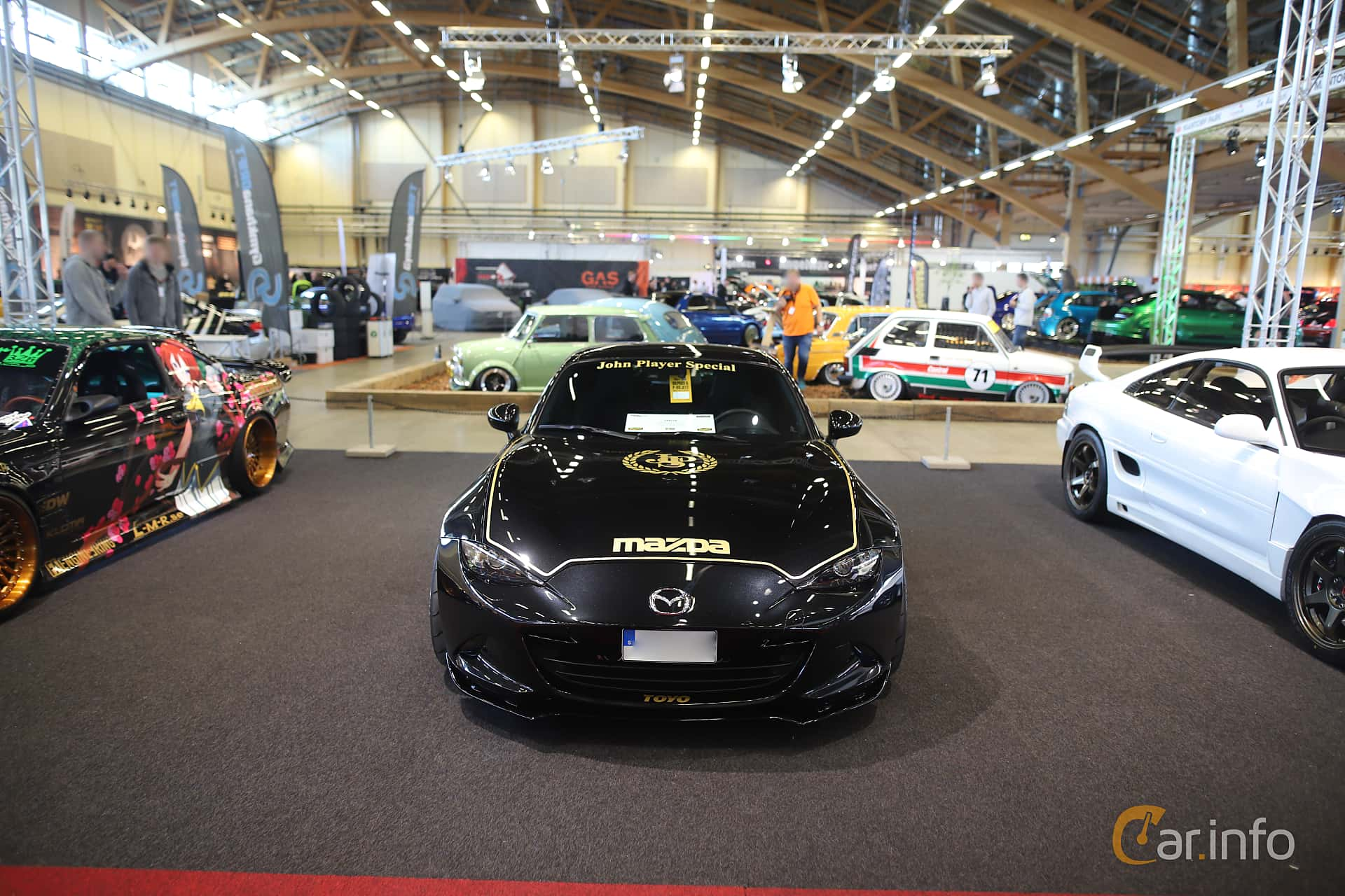 Mazda MX-5 RF 2.0 SKYACTIV-G Manual, 160hp, 2018 at Bilsport Performance & Custom Motor Show 2019