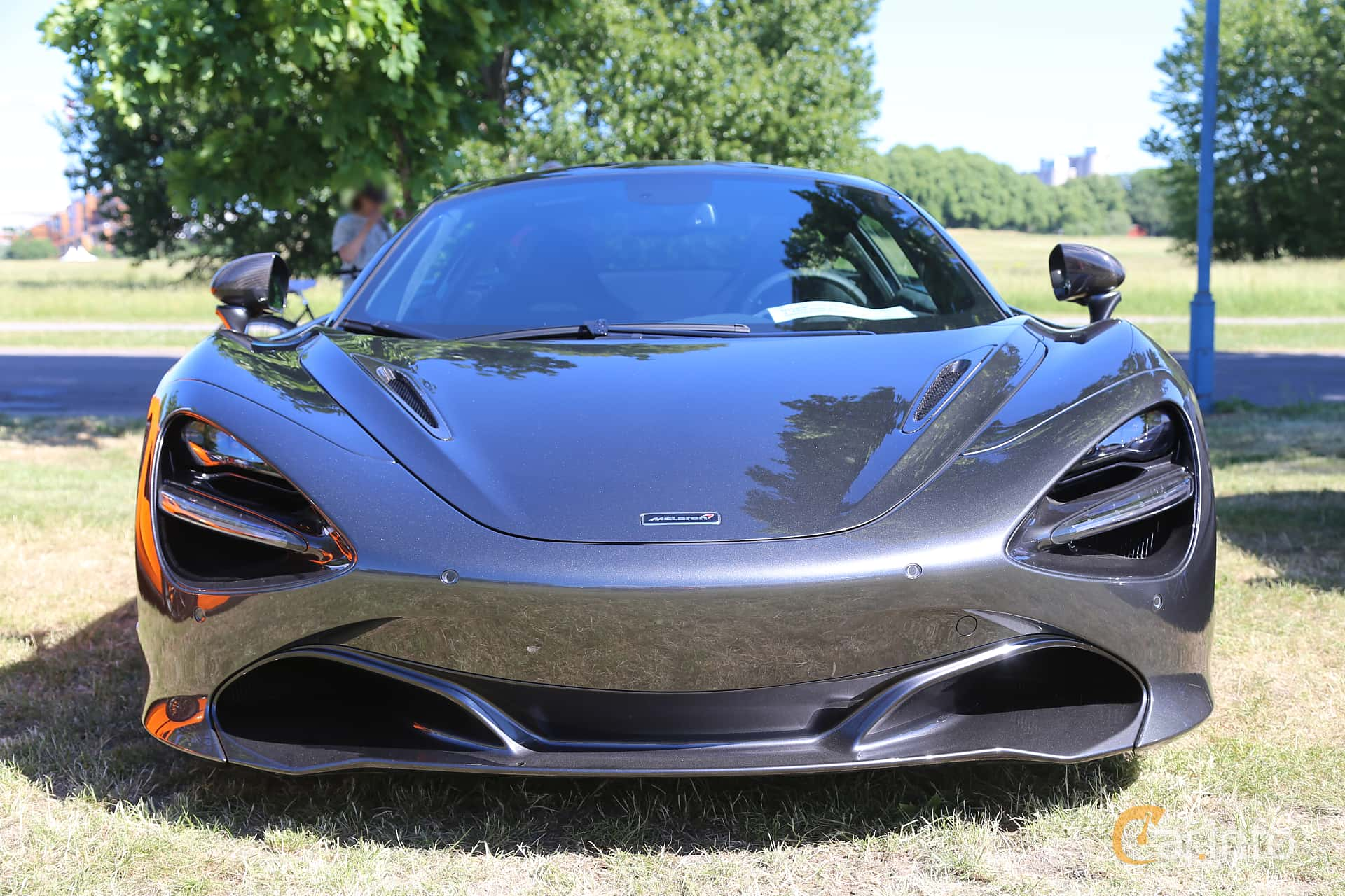 McLaren 720S 4.0 V8 DSG Sequential, 720hp, 2017 at Cars and Coffee Stockholm 2018