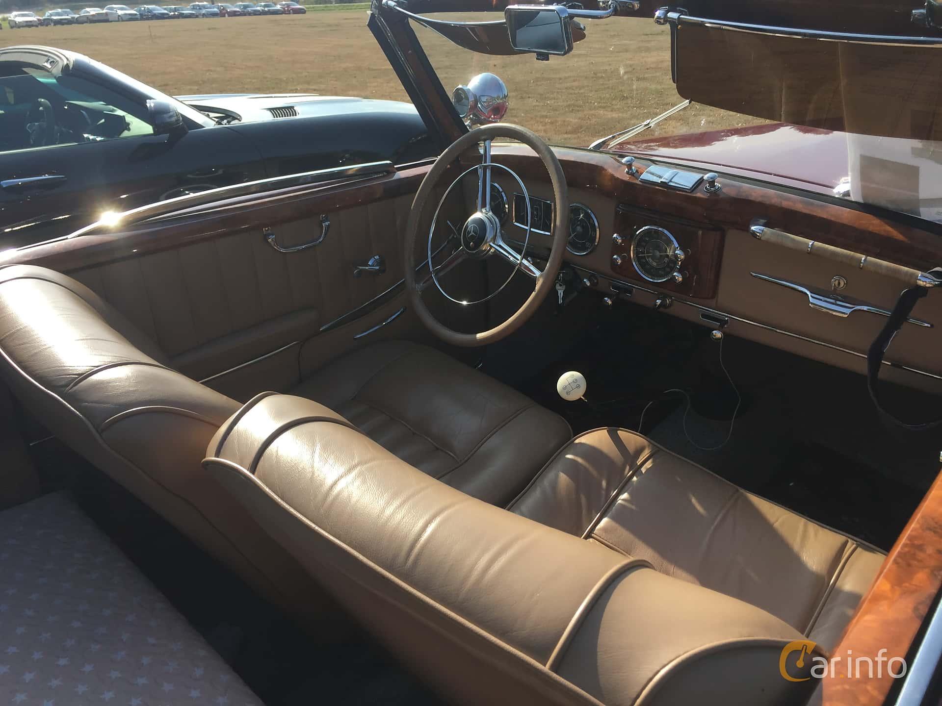 Mercedes-Benz 170 S Cabriolet A  Manual, 52hp, 1950 at Eddys bilträff Augusti 2018