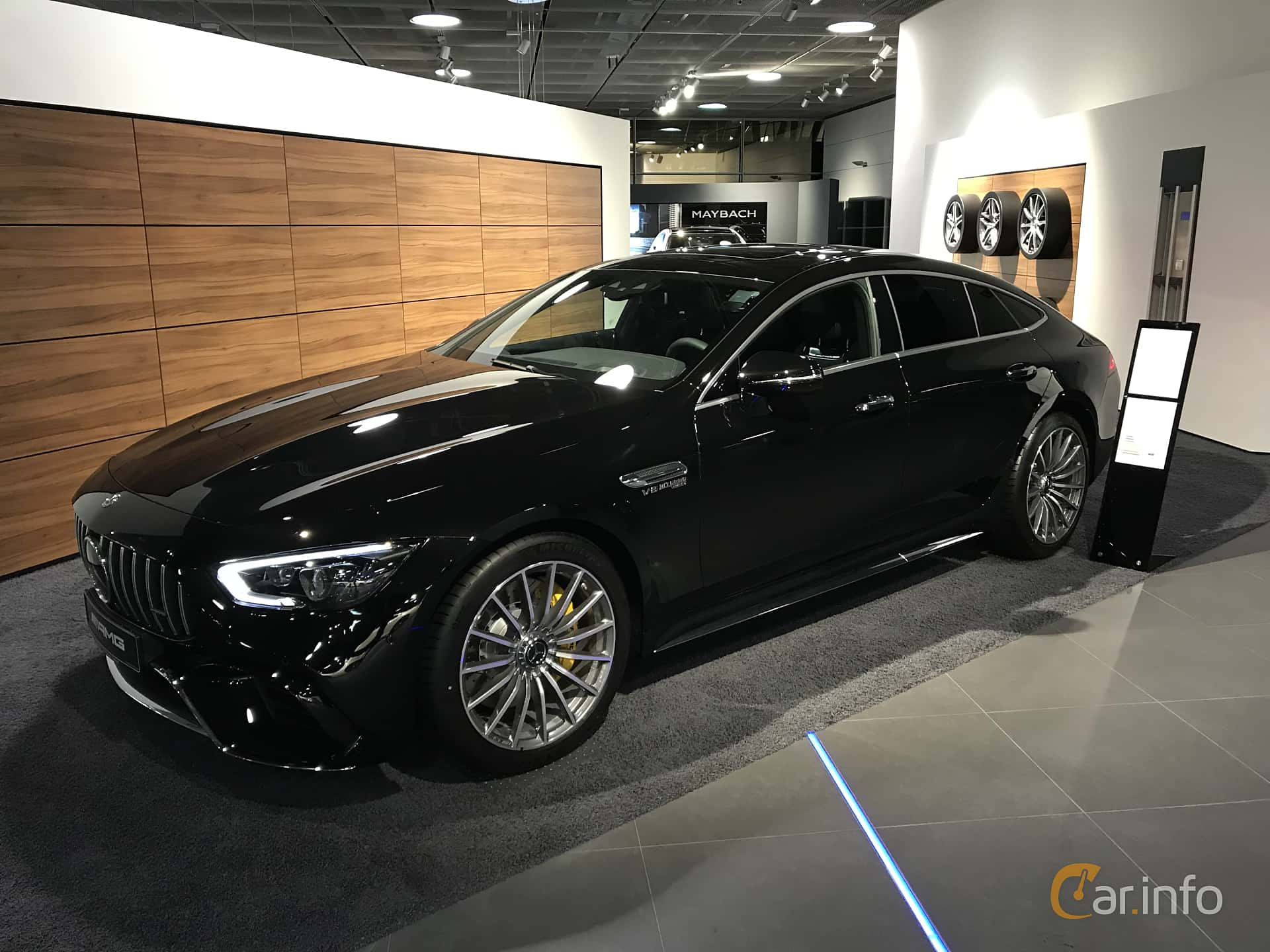 Mercedes-Benz AMG GT 63 S 4-door Coupé 4MATIC+  , 639hp, 2019