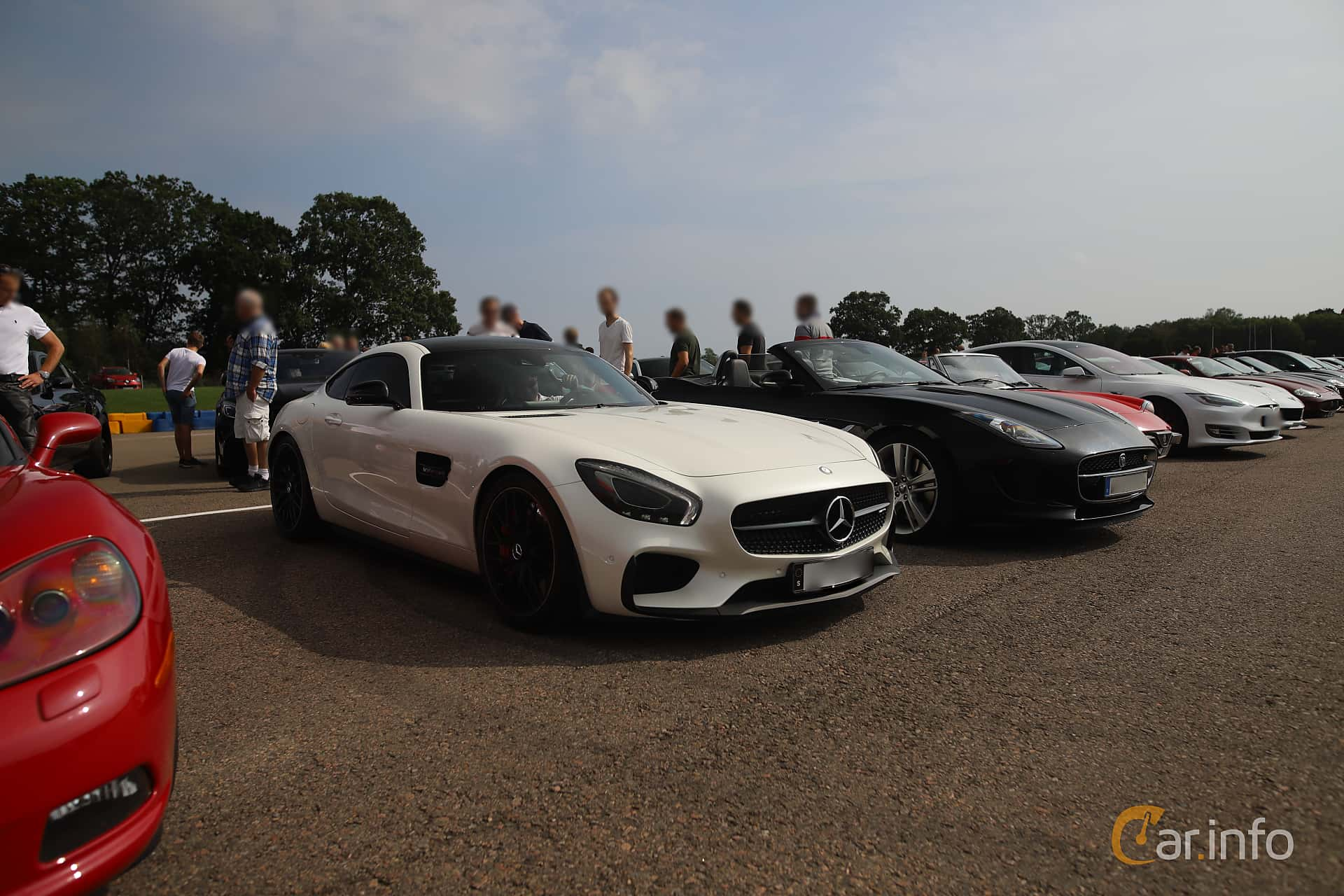 Mercedes-Benz AMG GT S  AMG Speedshift DCT, 510hp, 2015 at Autoropa Racing day Knutstorp 2019